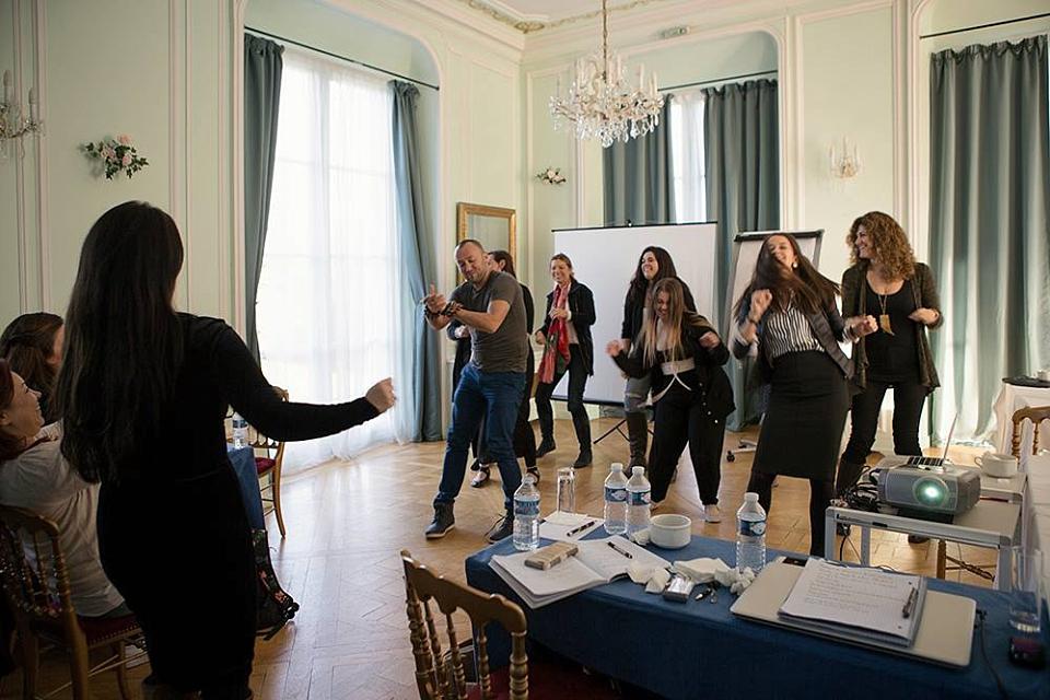 Dancing for Sue, image courtesy Olga Zametra