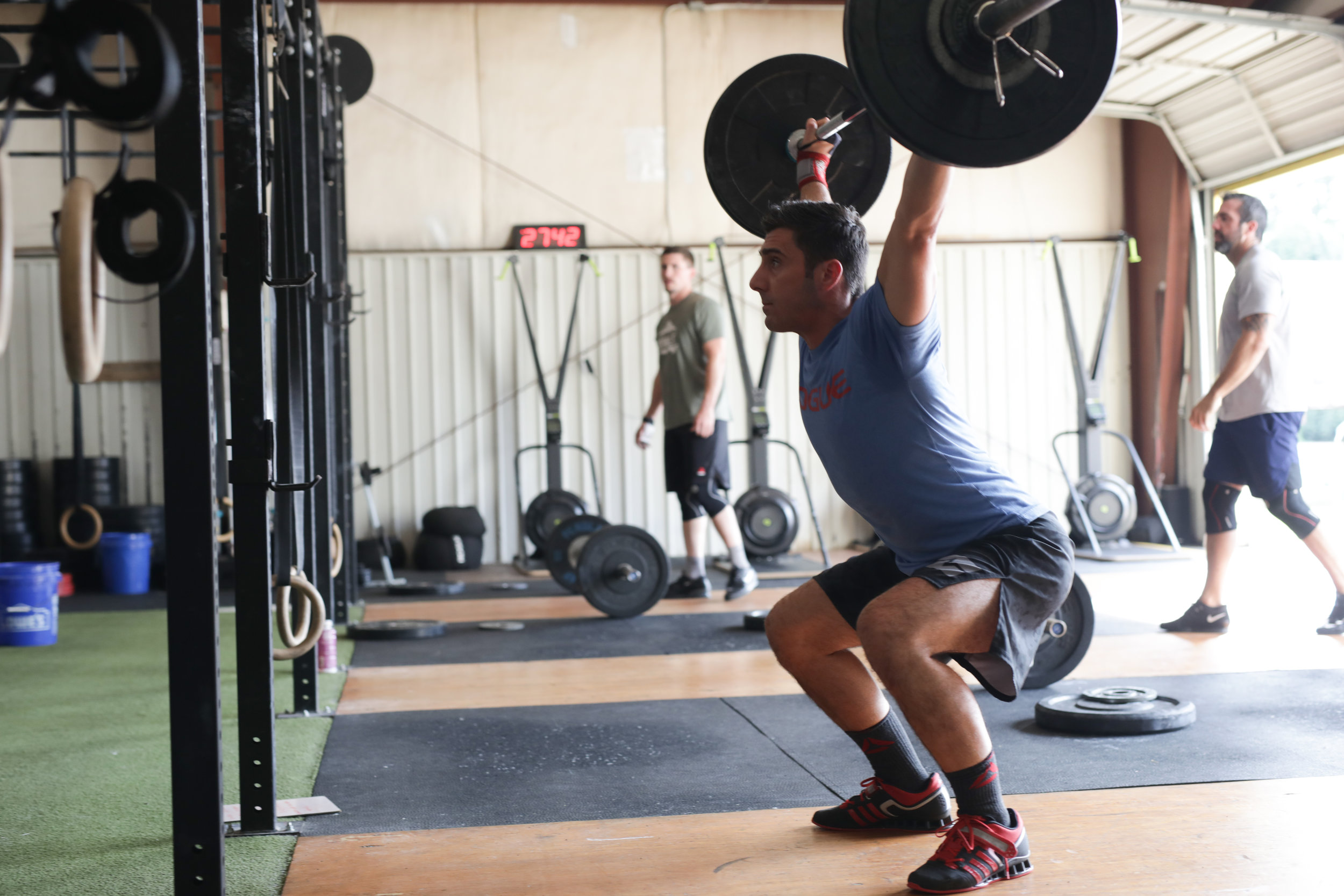 overhead squat - mobility - fitness - Asheville