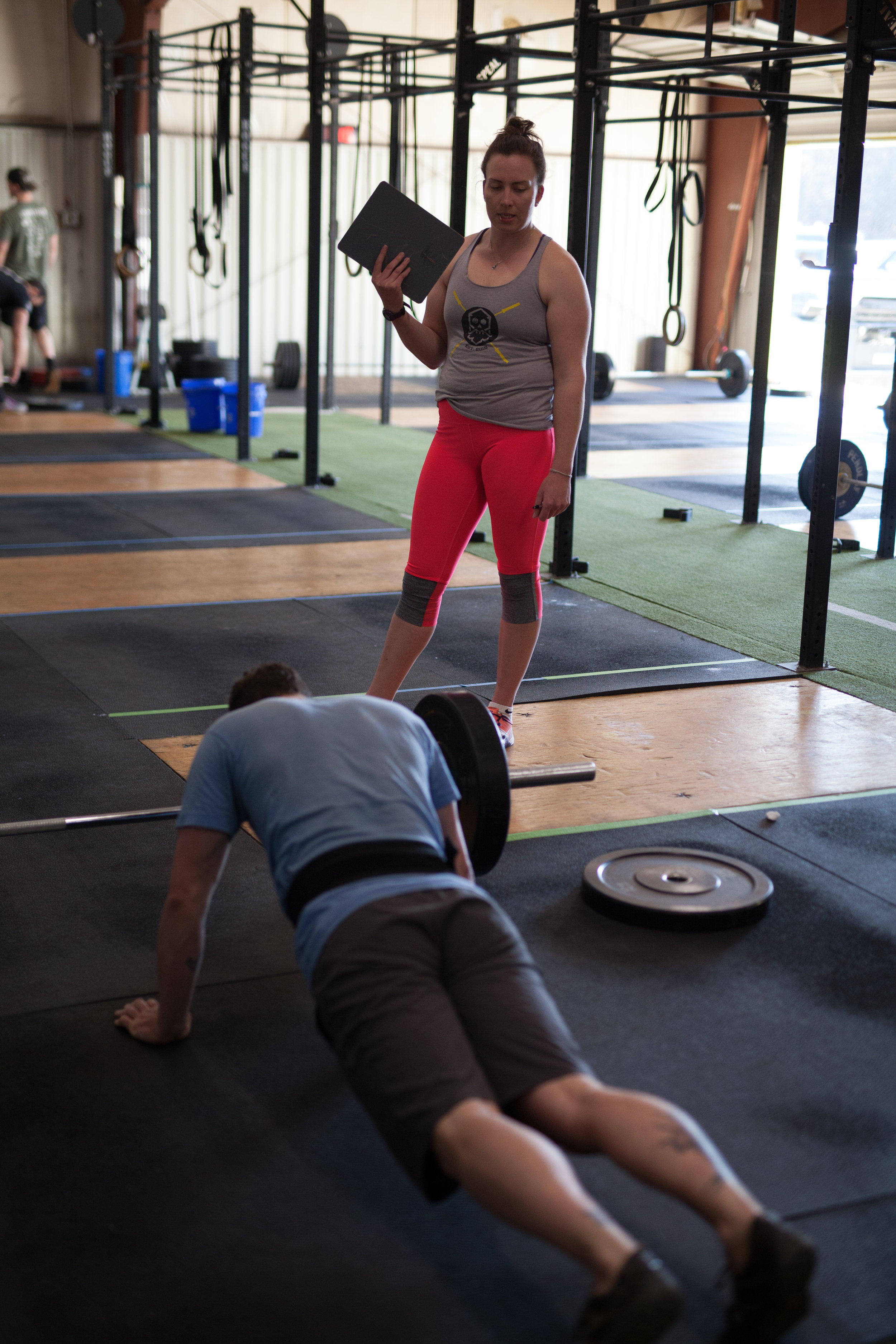 coaches - Crossfit - Crossfit open - compete - burpees