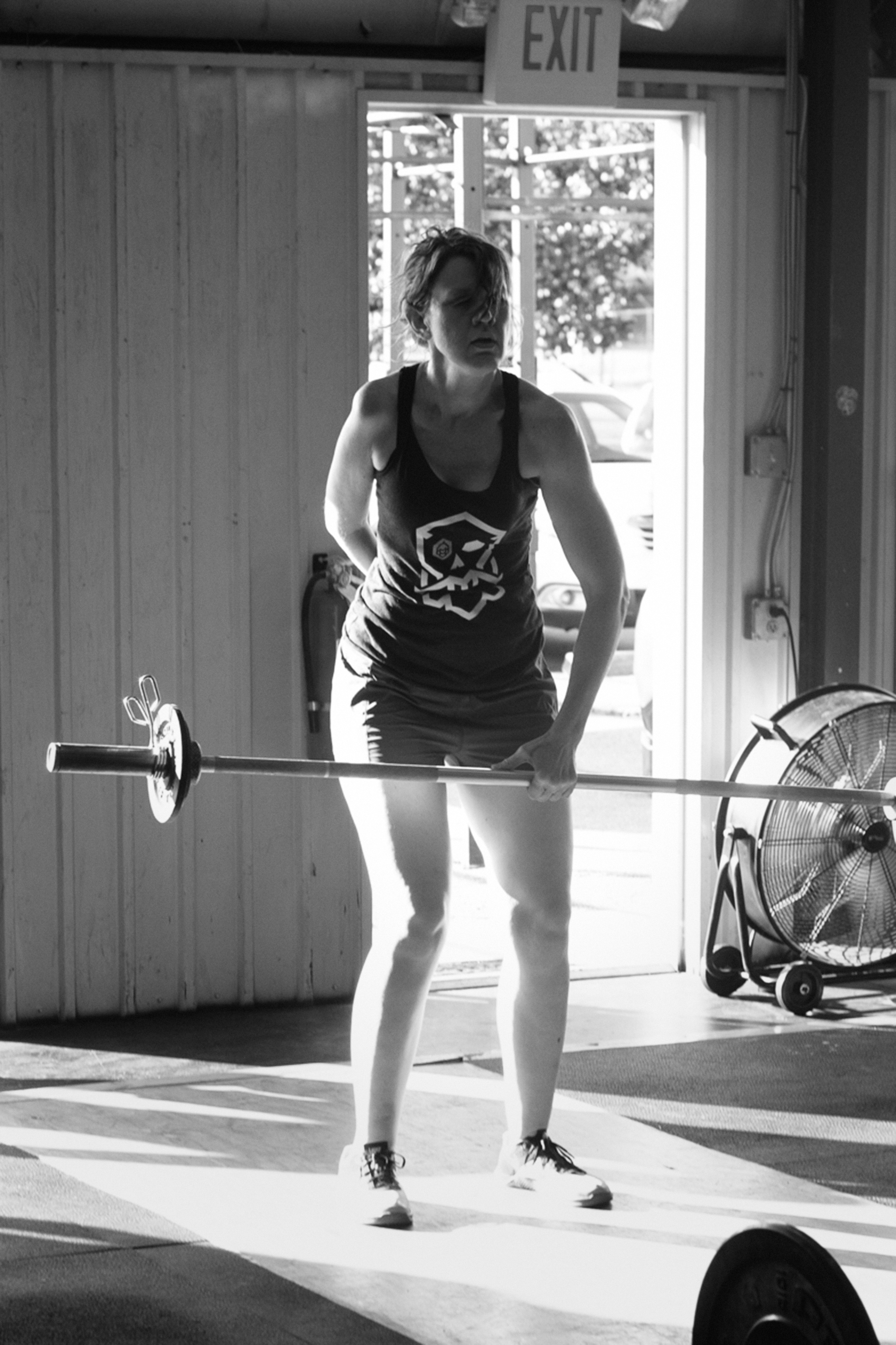 adapt and succeed - beer city Crossfit - Crossfit in Asheville - one arm snatch