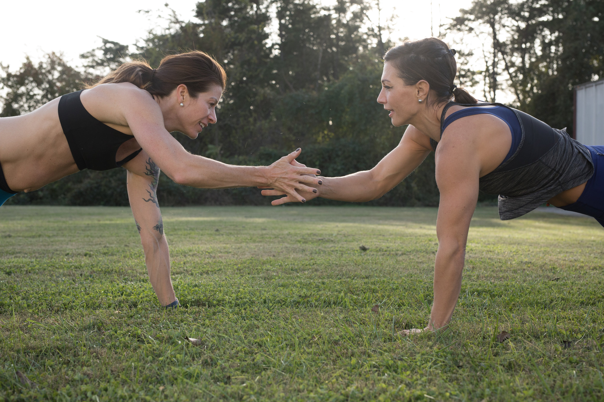 fun outside - friends - community - women of Crossfit - girls who lift - be strong