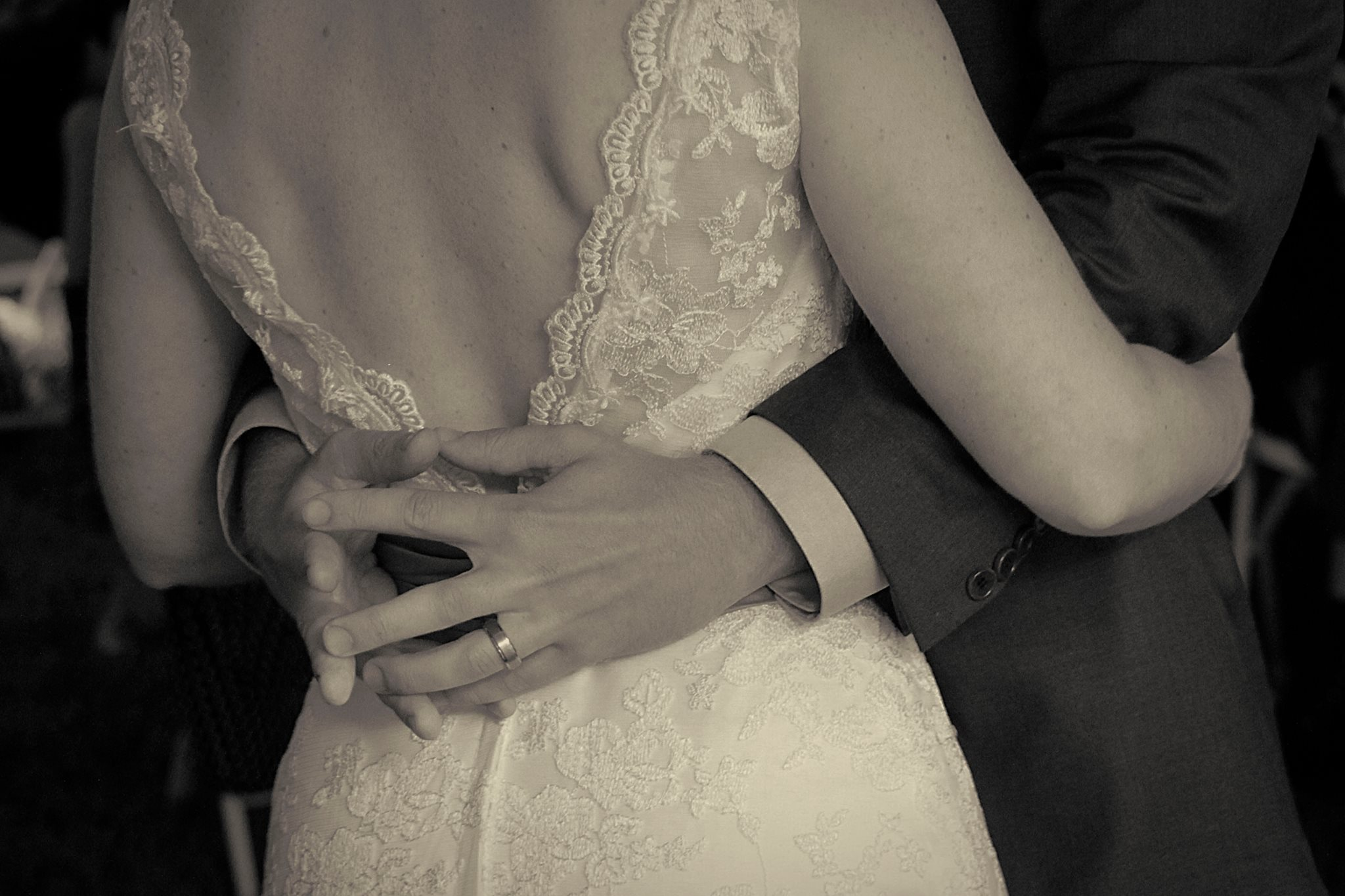 more wedding photography - sepia toning