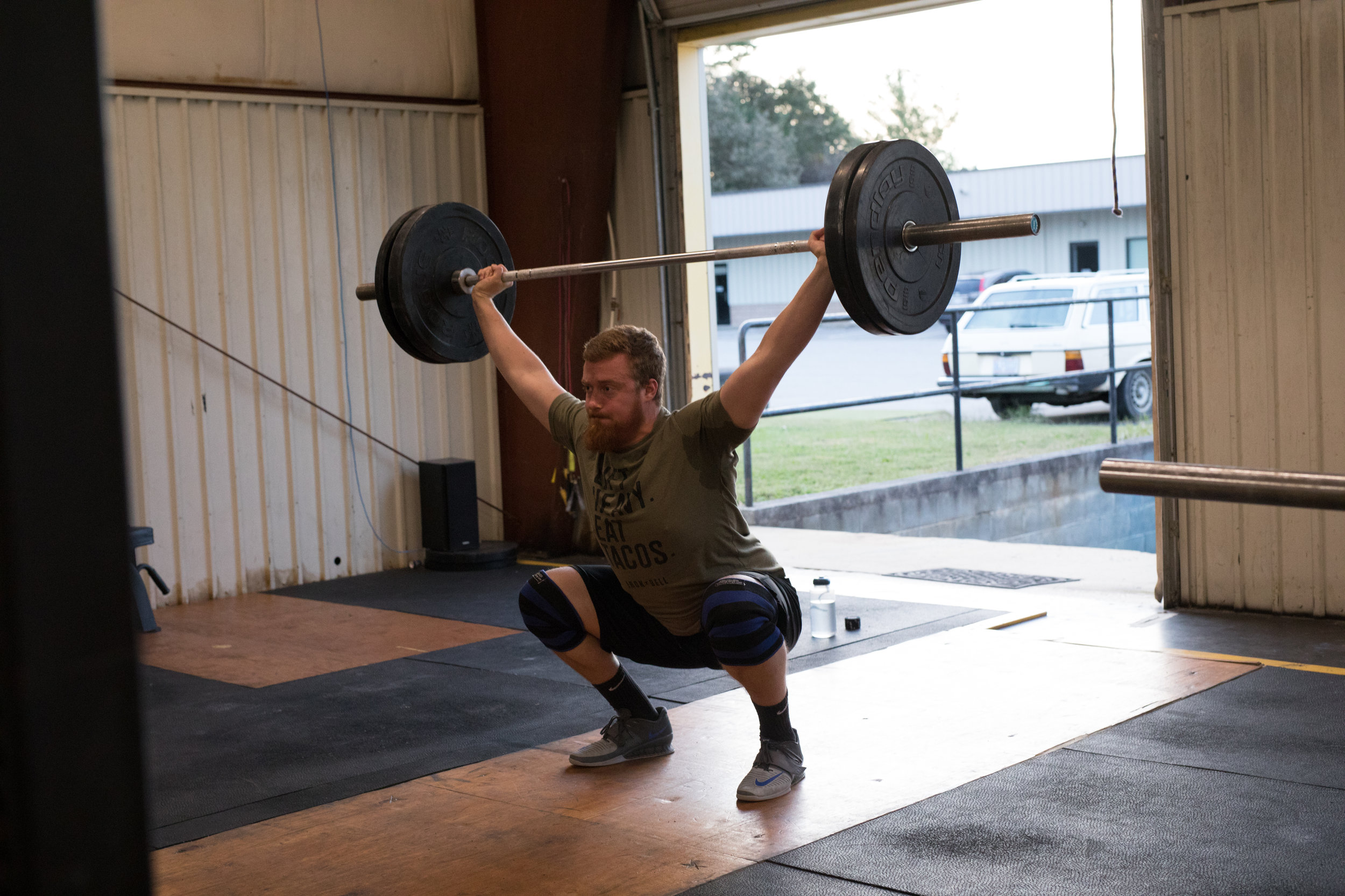 snatch - power snatch- Crossfit in western nc - Asheville