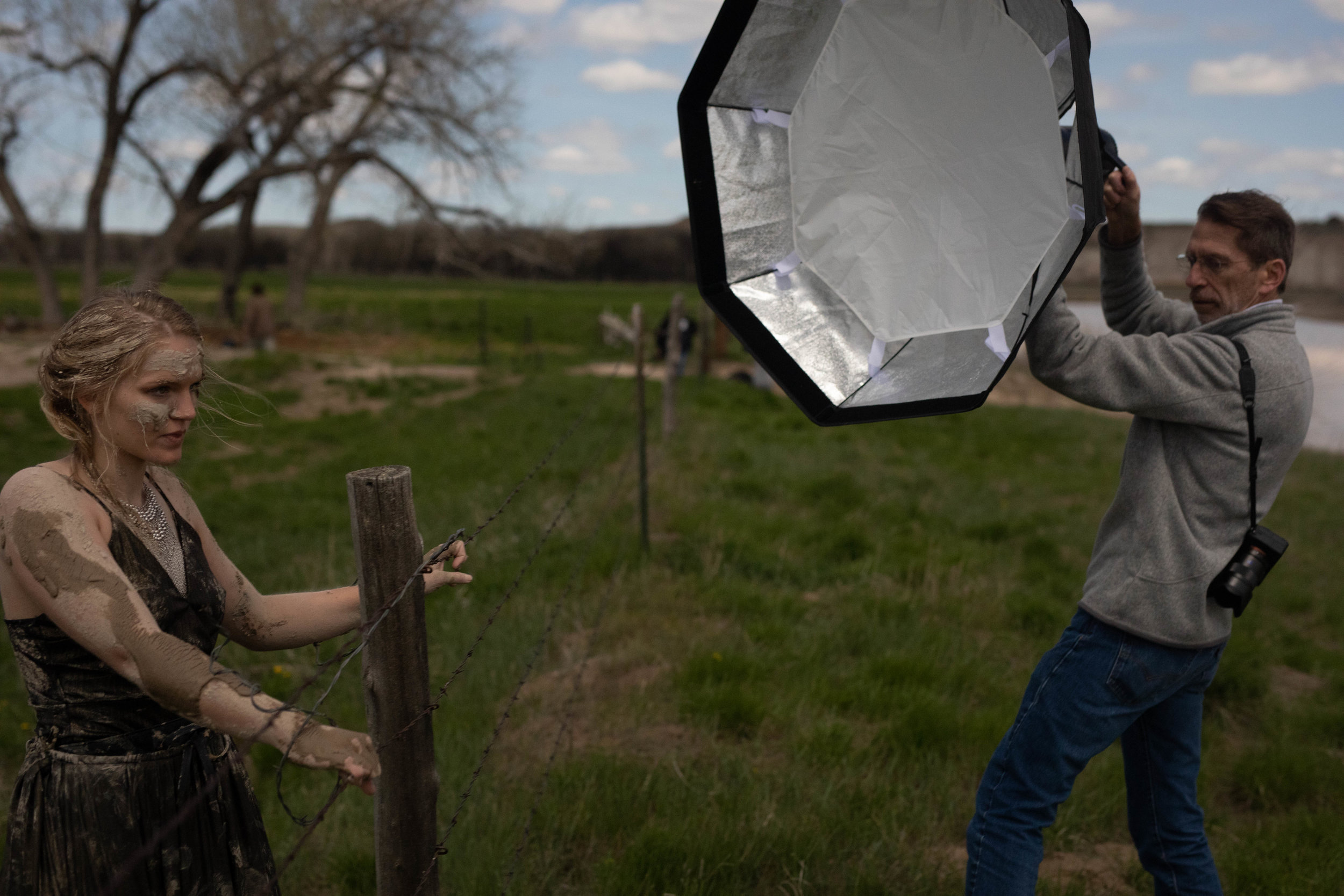 Behind the Scenes from the Parker Pfister workshop in the Badlands of South Dakota