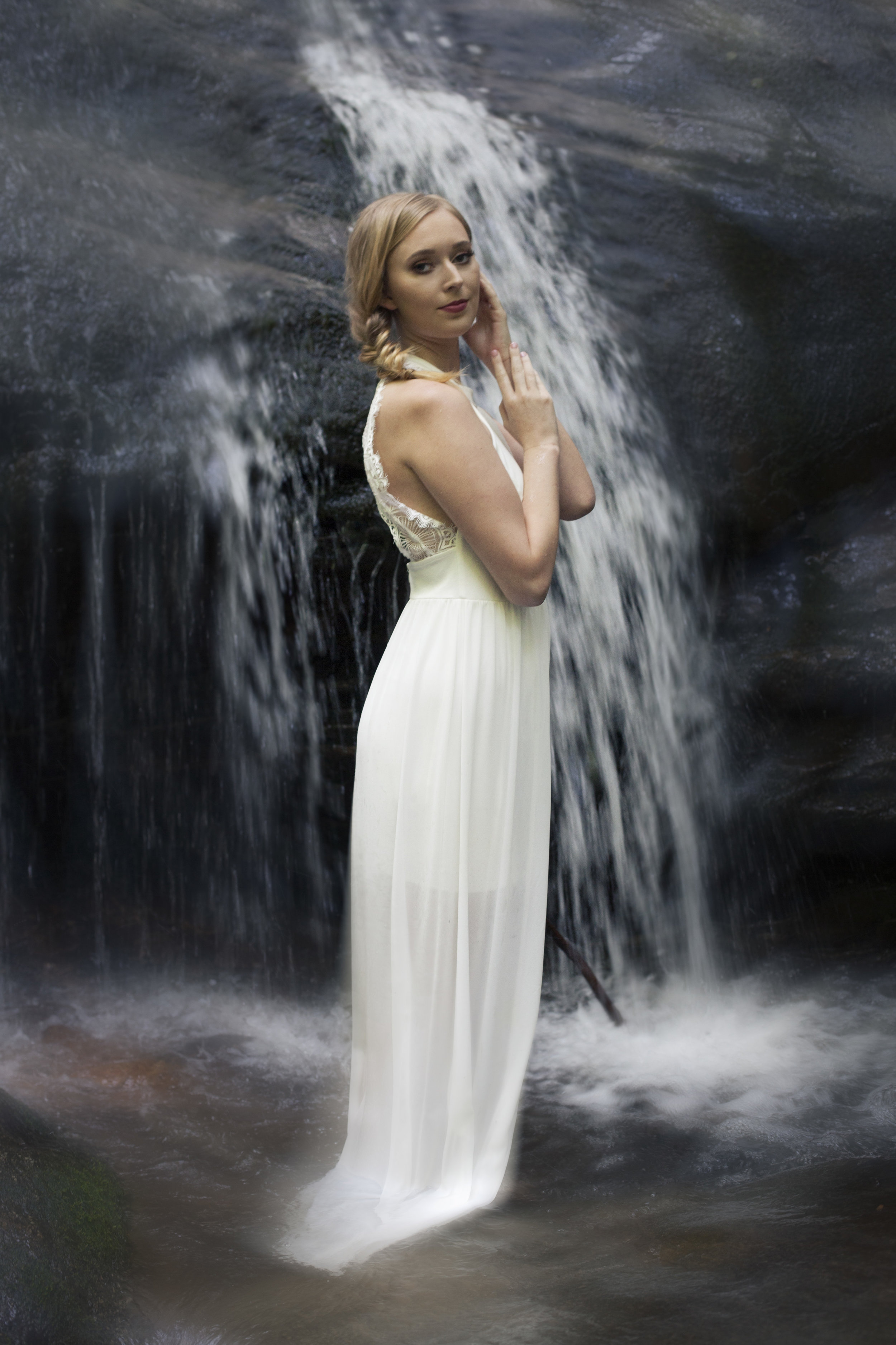 ophelia - portrait photography - outside - Asheville photographer