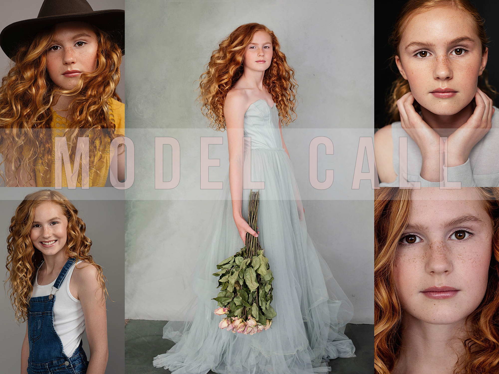 model call - summer photography promotion - teens and tweens