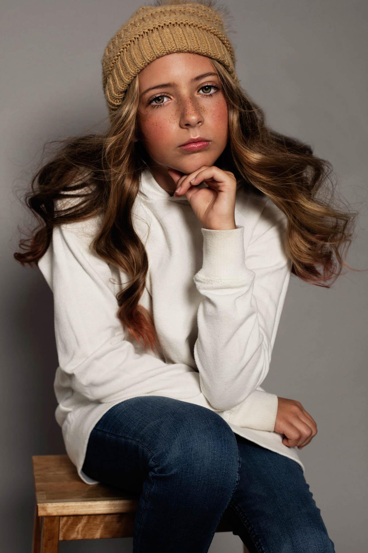 magazine worthy - contemporary - young girl - attitude - Asheville photography