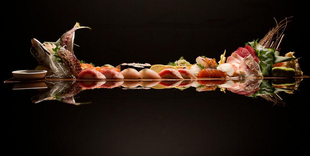 Omakase Platter, courtesy of Blue Ribbon Sushi Izakaya