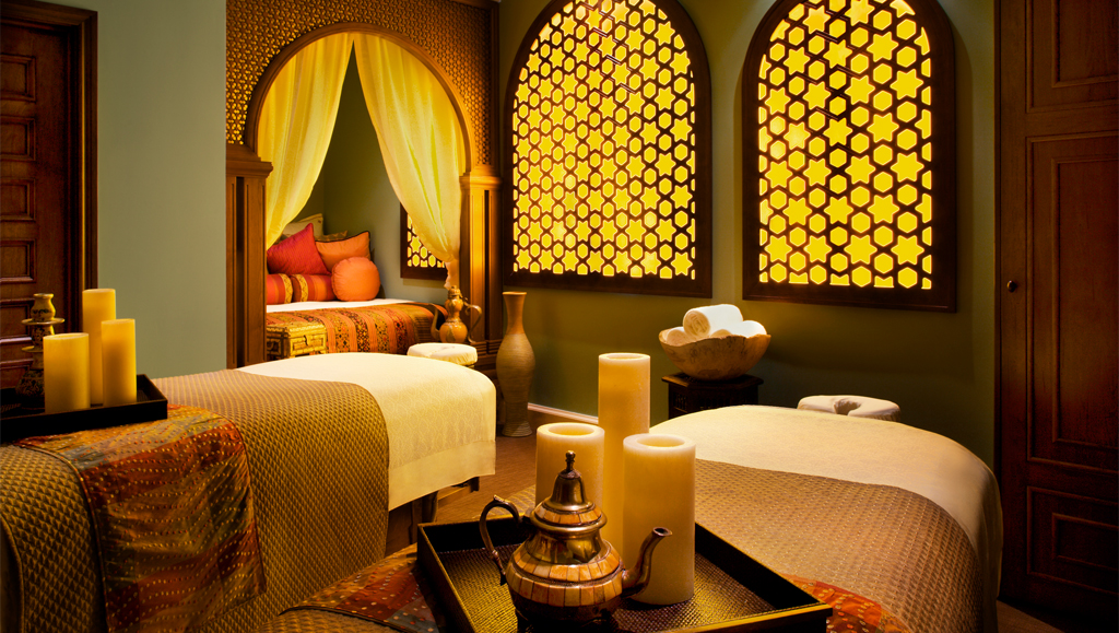 Joya Spa Suite courtesy of Omni Hotels & Resorts
