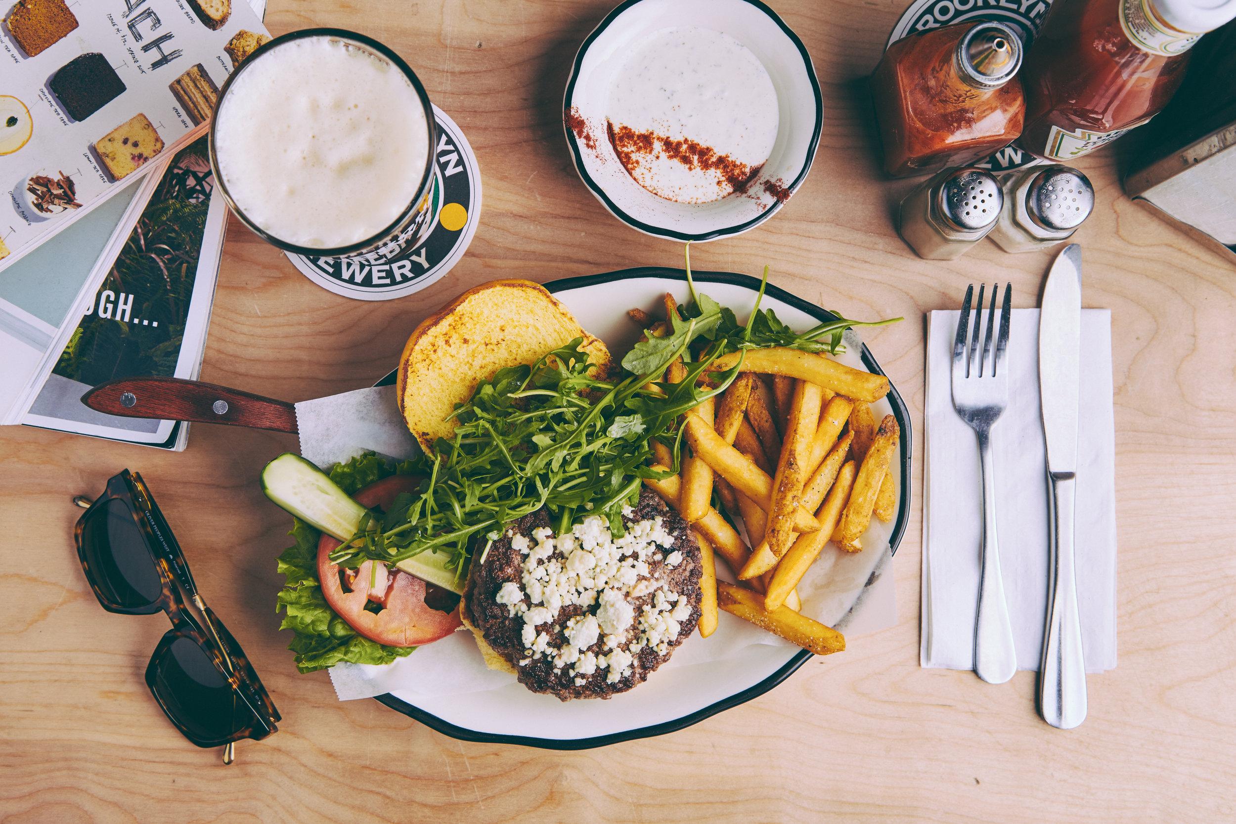 Black Tap's  Greg Norman burger, photo courtesy of Black Tap