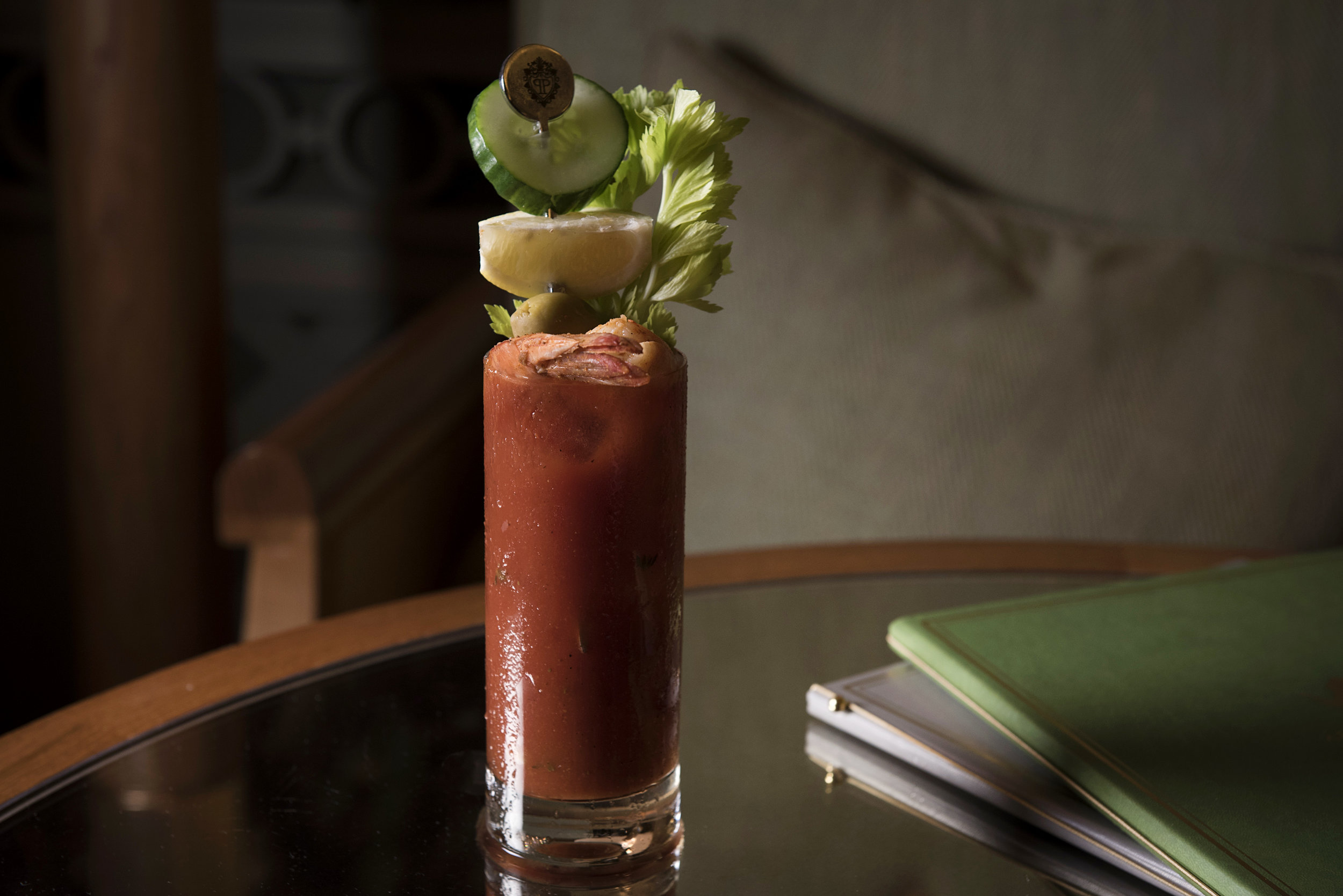 Bloody Mary at  The Palm Court
