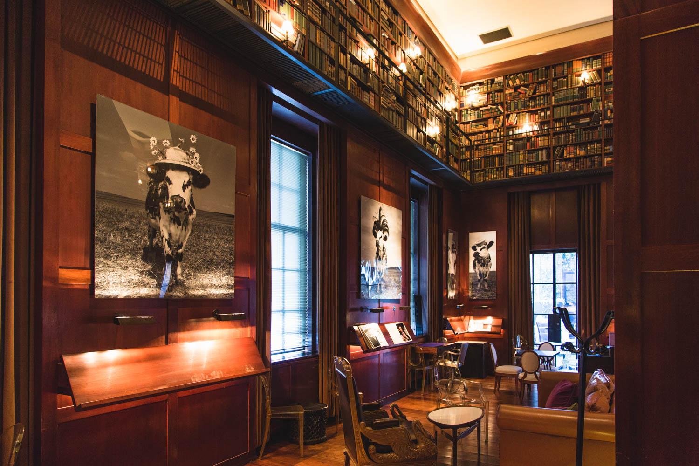 Library Bar, photo courtesy of Hudson Hotel