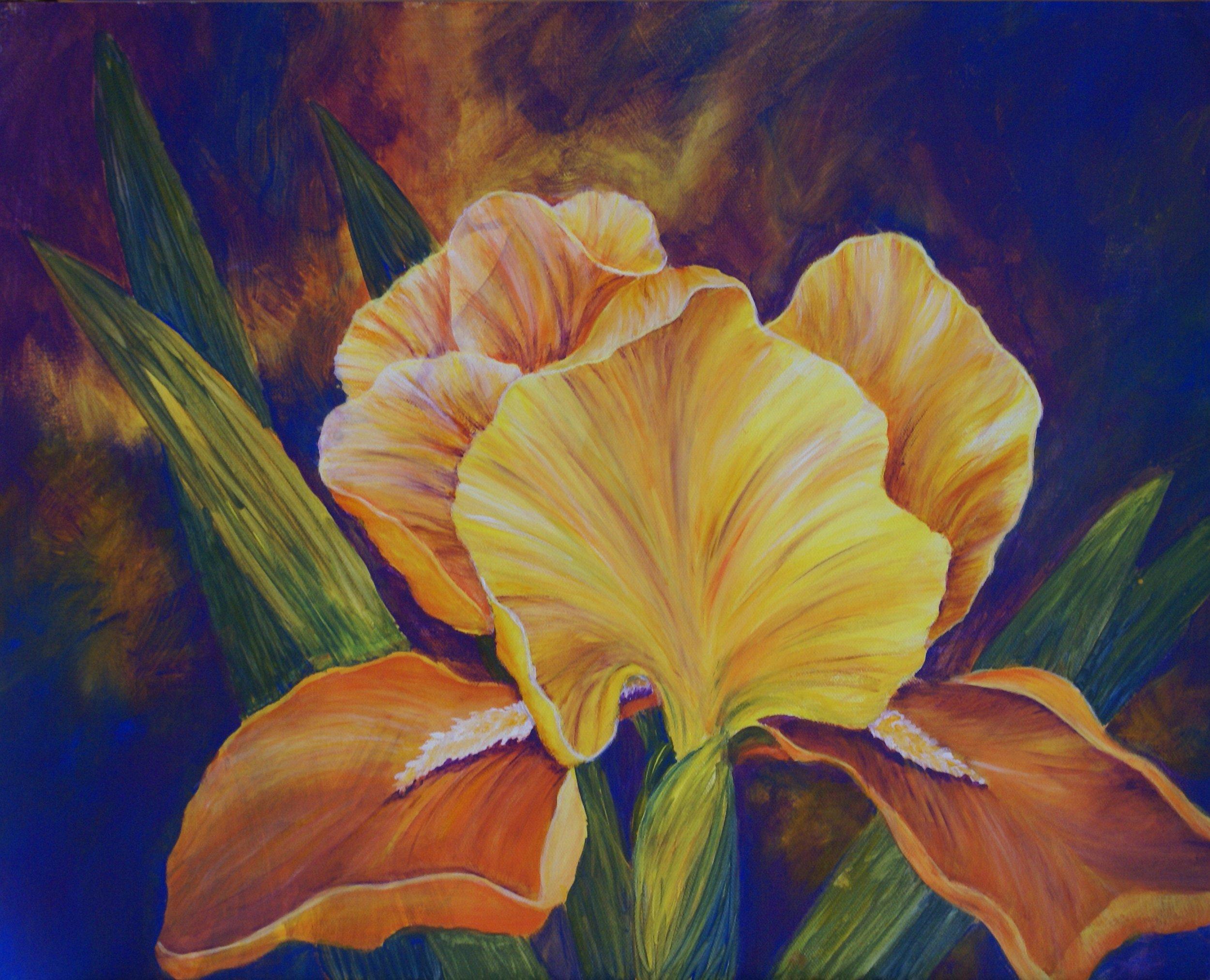 """#12 """"Yellow Iris"""" $695"""