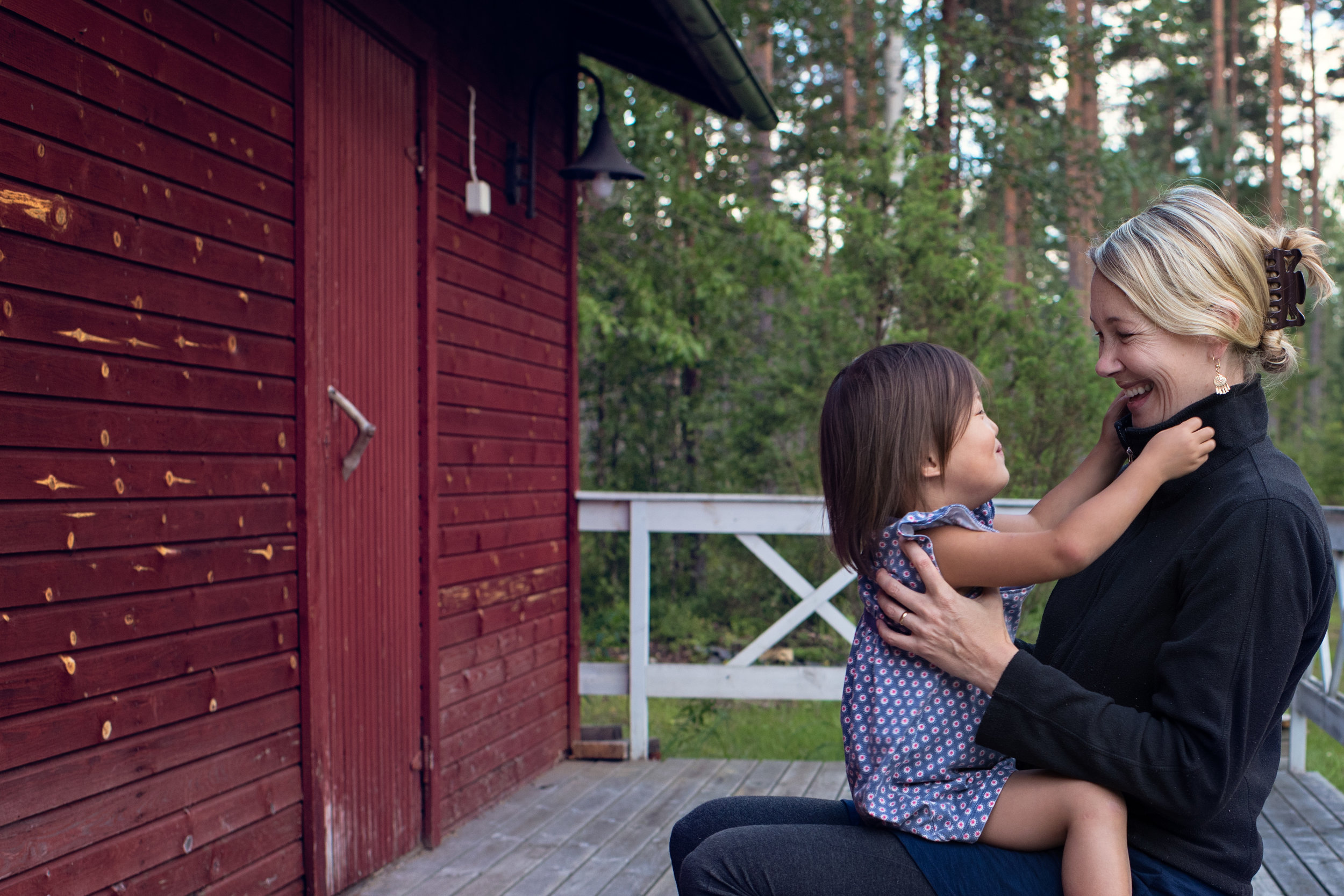 Self-Portrait in Finland 2016 Day In The Life Session Documentary Family Photography