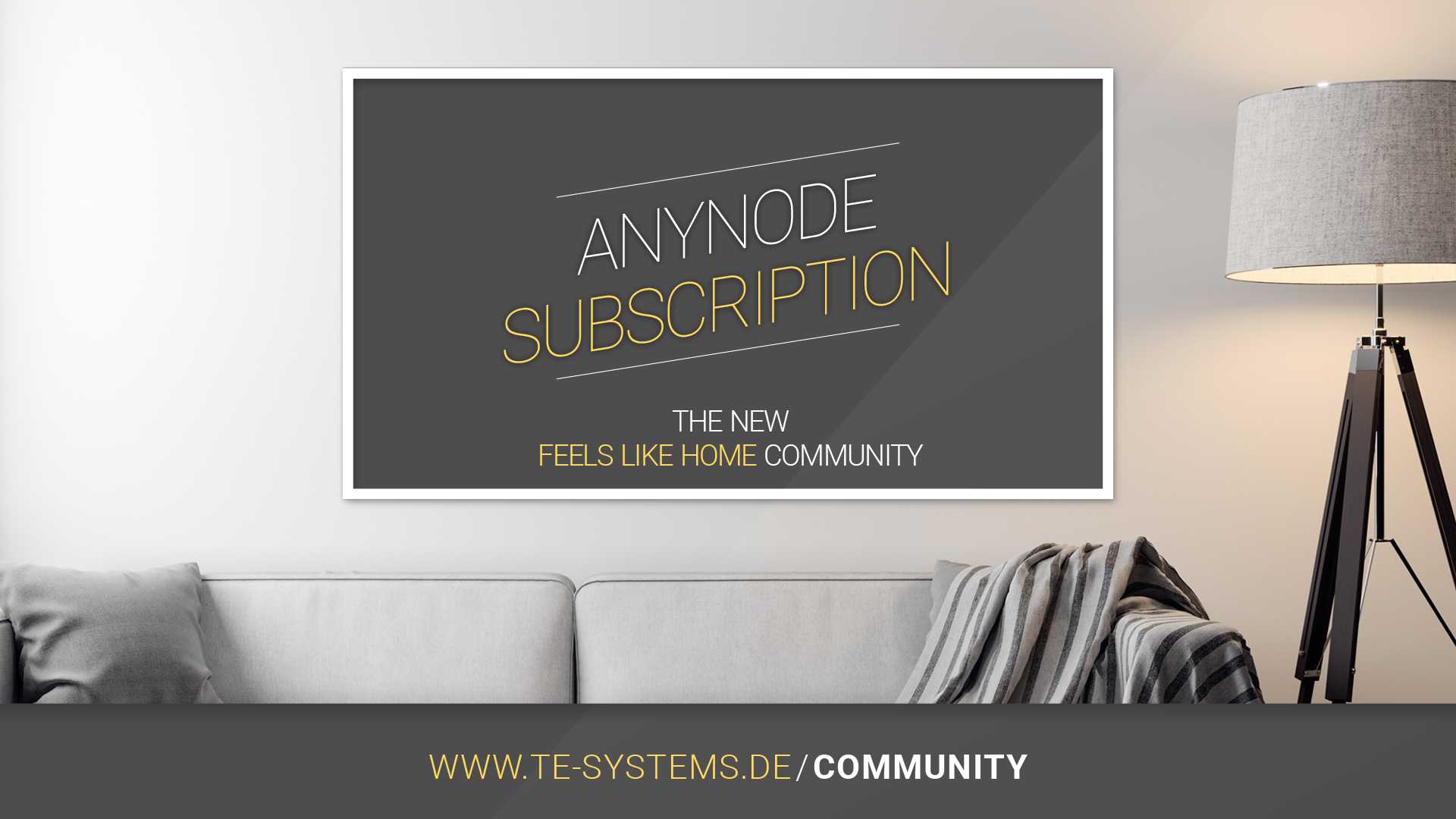 """be excited: anynode subscriptions via our new """"feels like home community"""" #staytuned"""