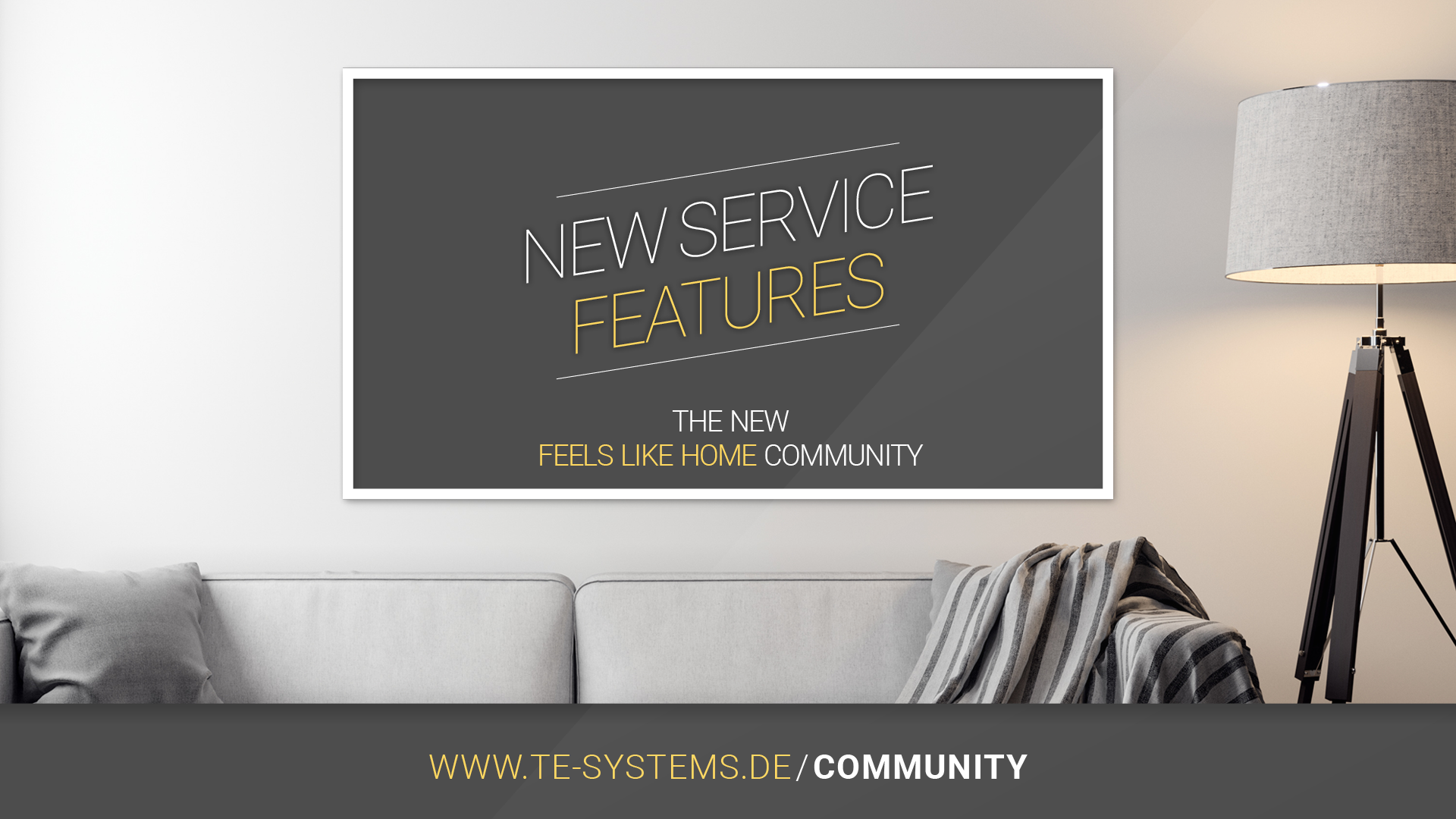 """be exited: new service features with our new """"feels like home community"""" #staytuned"""
