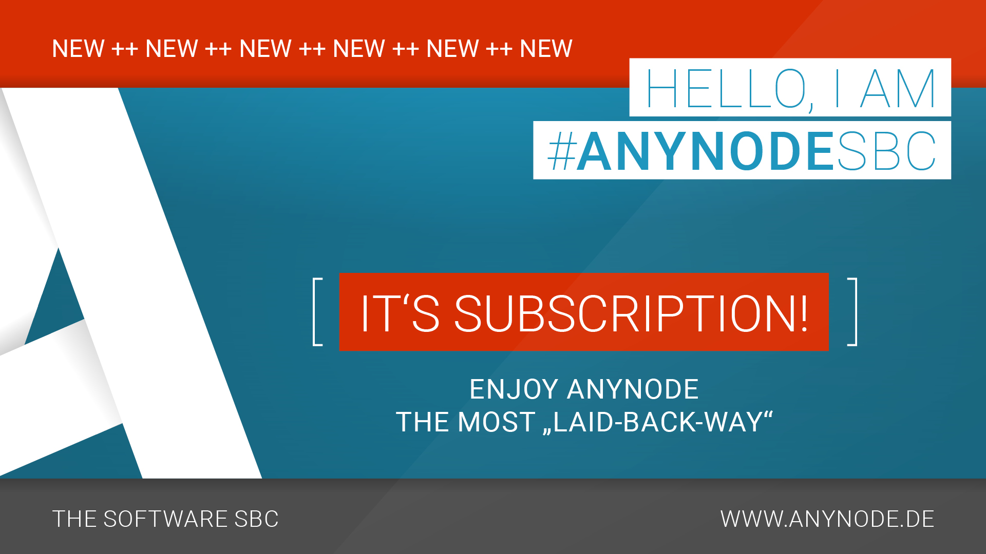 """the most """"laid-back-way"""" to enjoy #anynodeSBC –subscribe to unwind."""
