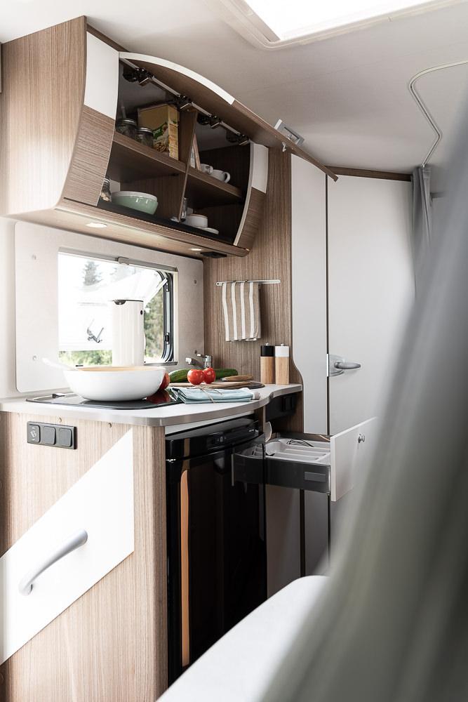Küche mit Stauraum
