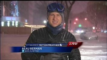 Blizzard in Washington, DC