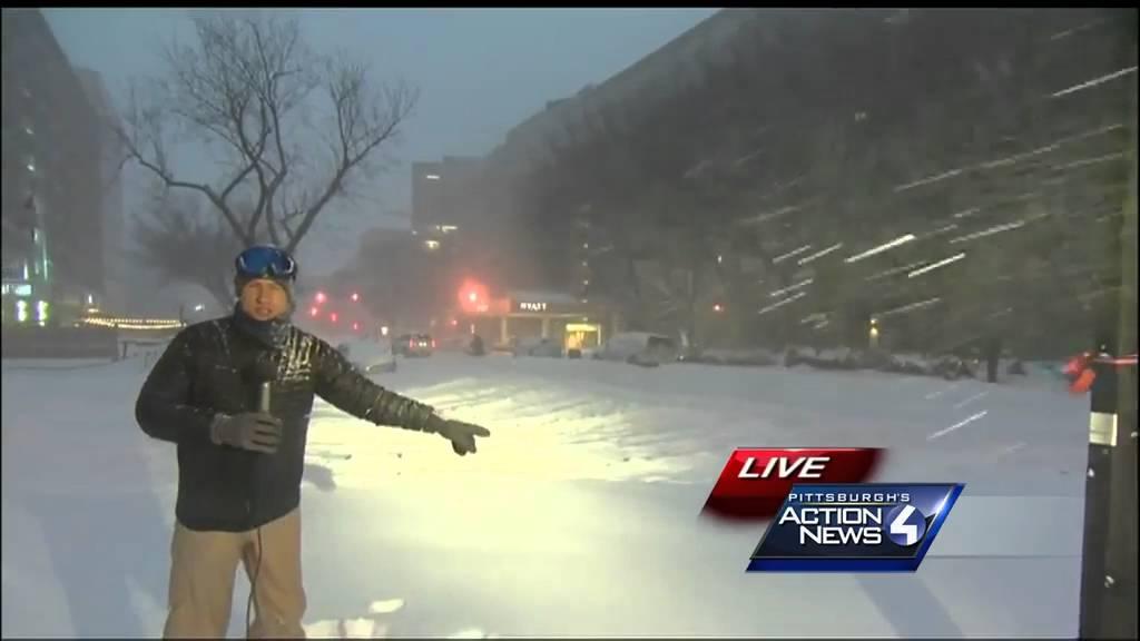 Blizzard in Washington, DC (Jan 2016)