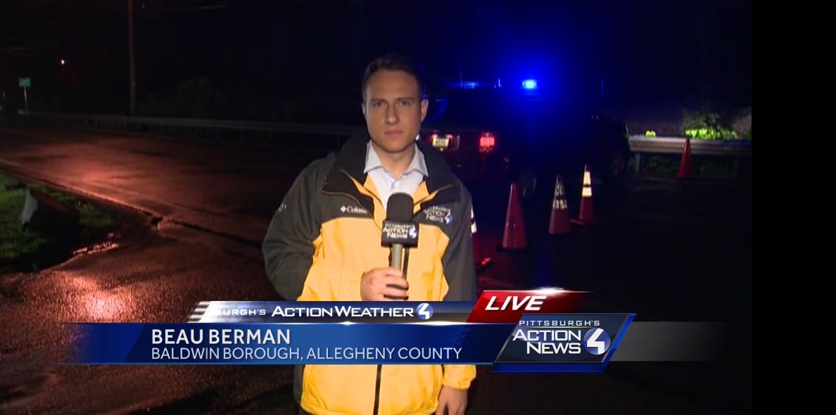 Flooding in Baldwin Borough