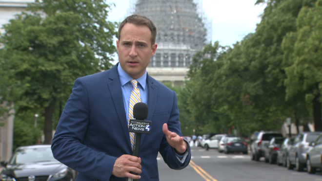 Reporting in Washington, DC in July 2015