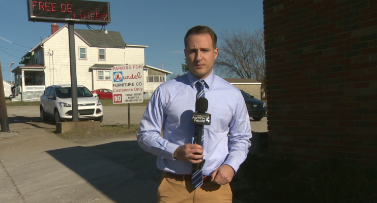 Reporting in Uniontown, Pa.