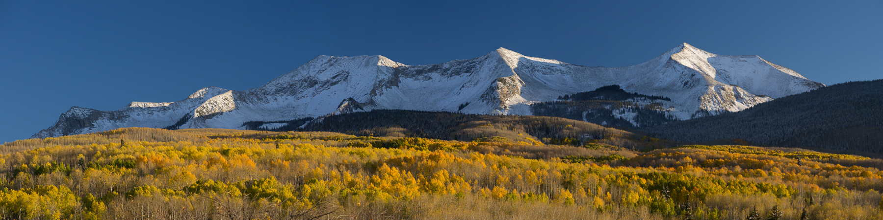 East and West Beckwith Peaks Fall