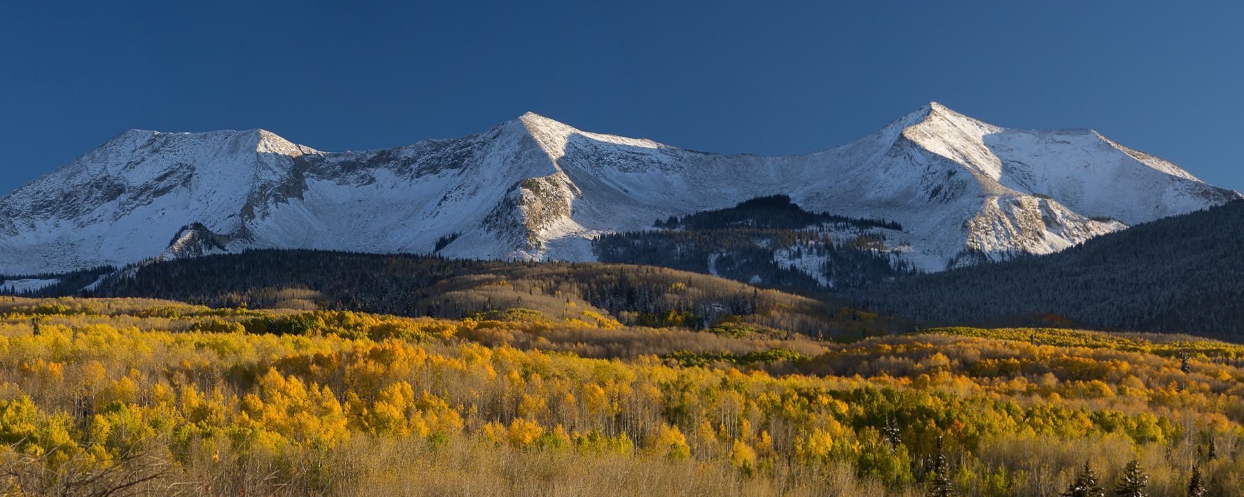 Beckwith Peaks Fall Afternoon