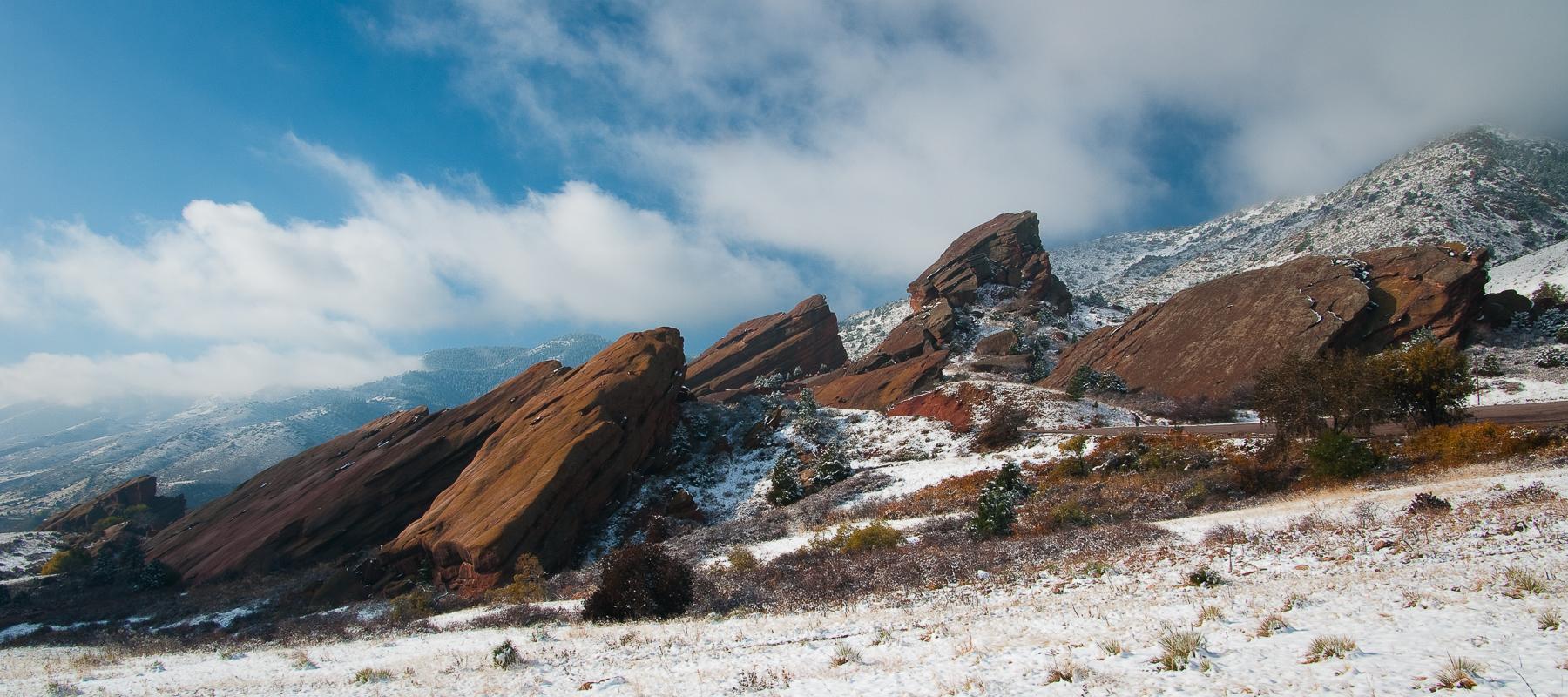 Red Rocks Park Surprise Snow