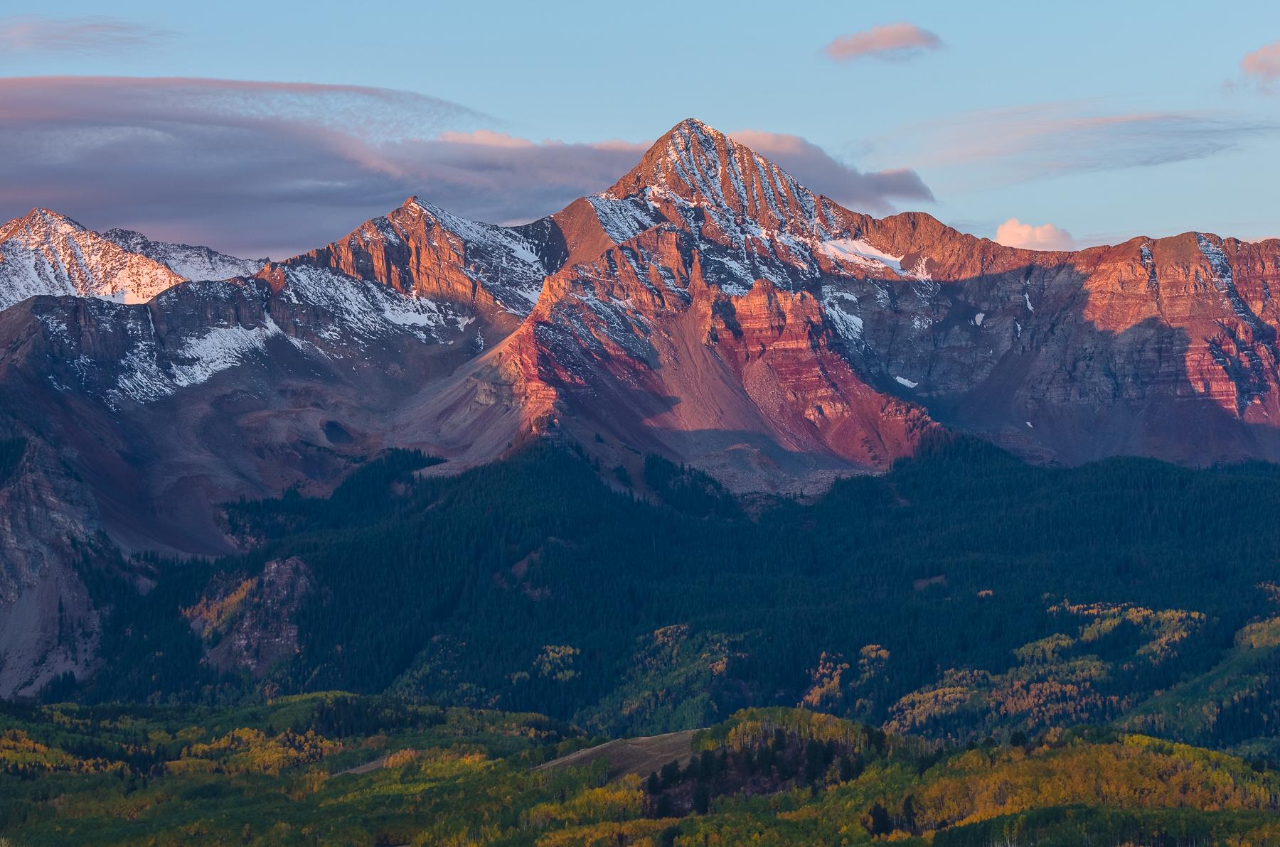 Mt Wilson Sunrise