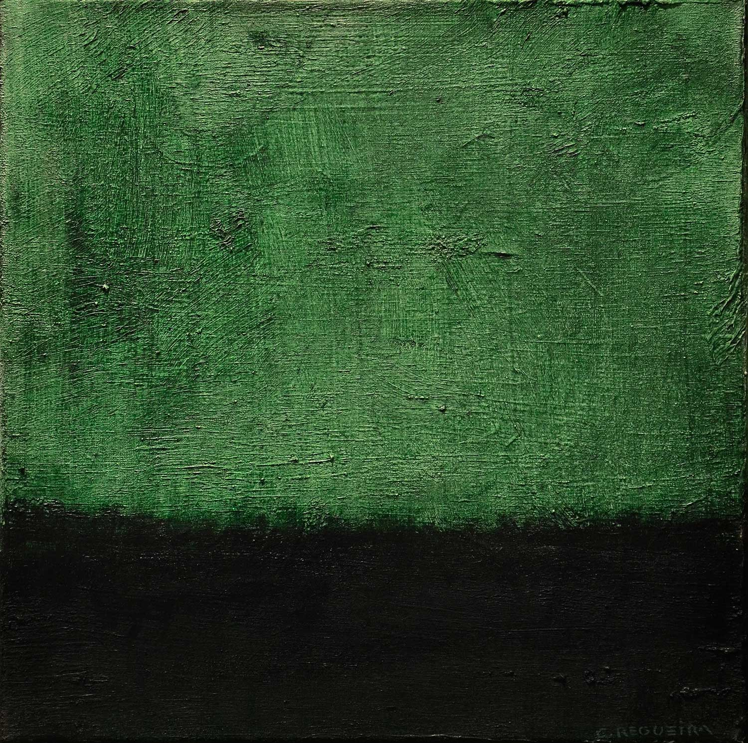 """Paisaje verde y negro / Green and black landscape"""