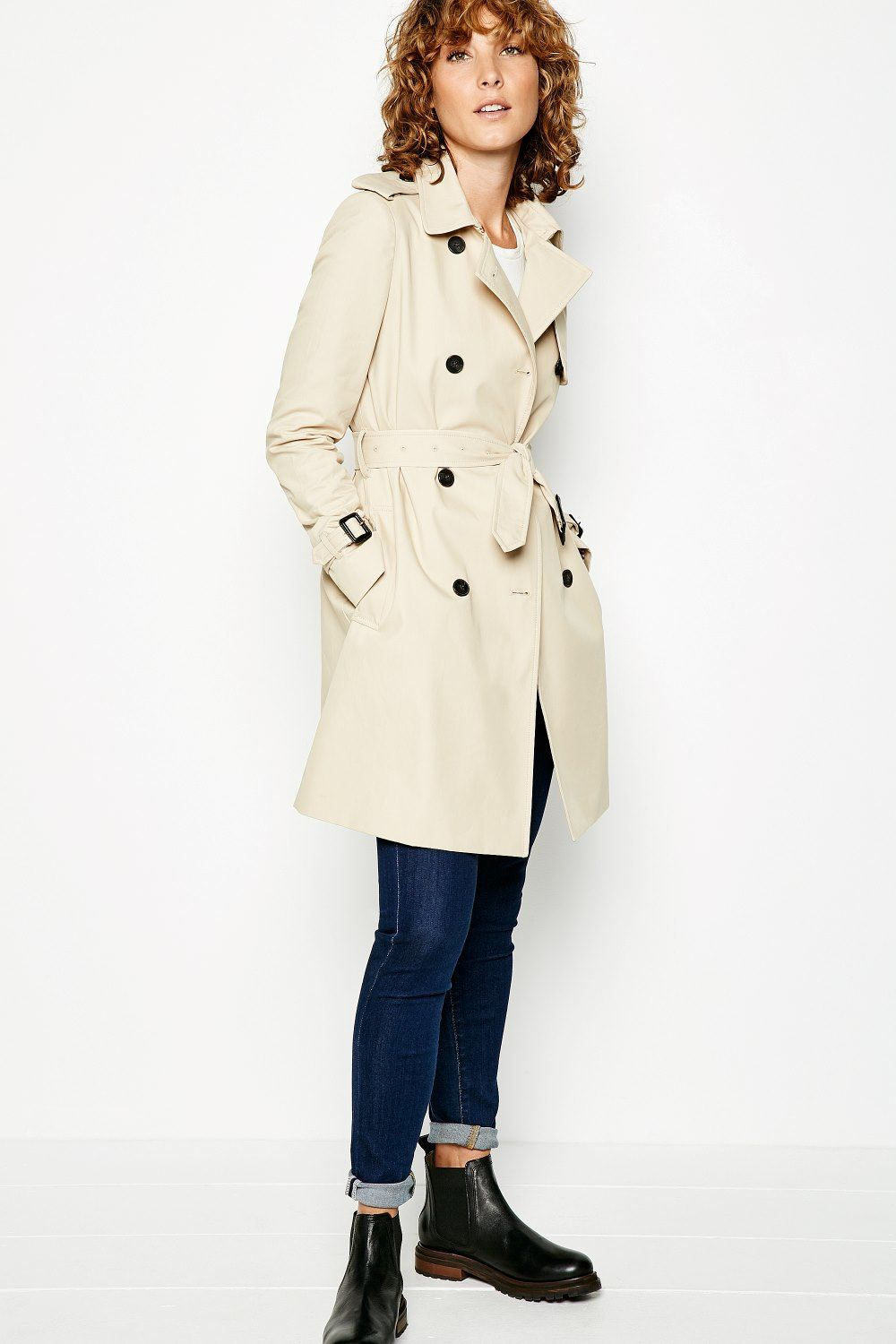 Jack Wills classic trench coat