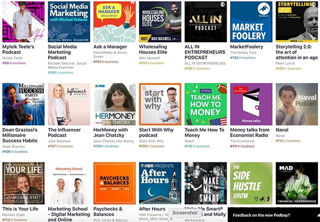 That moment your podcast is beating Simon Sinek, Dean Graziosi, and Michael Hyatt!! 😱  Will you help me get in the top 100? I am only 𝟱 spots away!  Please Subscribe, Like and Share...we have some big guest dropping next week. 🔥🔥🔥 https://podcasts.apple.com/us/podcast/storytelling-2-0-art-attention-in-age-distraction/id1462003438  We will be talking about the power of storytelling and how you can: ✅ Grow your influence ✅ Build your brand ✅ Become a master speaker ...one story at a time.  #Podcast #NewPodcast #Storytelling #Brand #Influence #SpeakLikeAPro