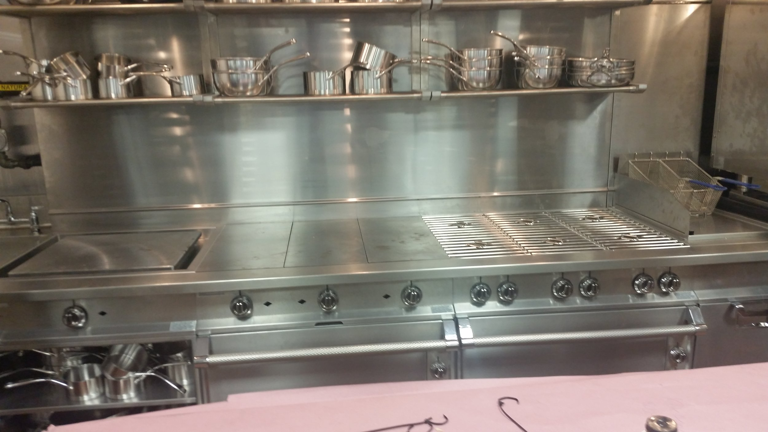 Poa Walla New York City  For some great pictures of the Heston equipment at Pao Walla, click the picture above.