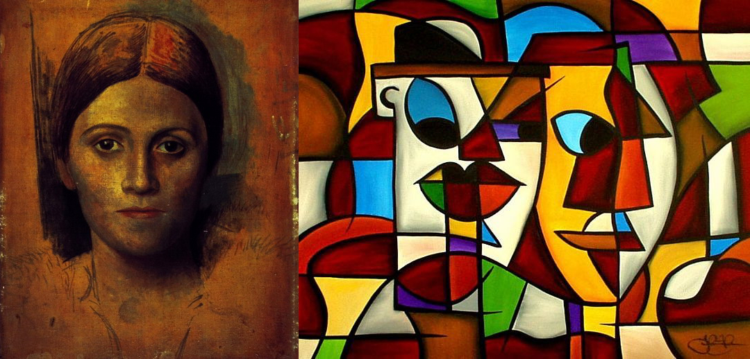 Two Paintings by Pablo Picasso