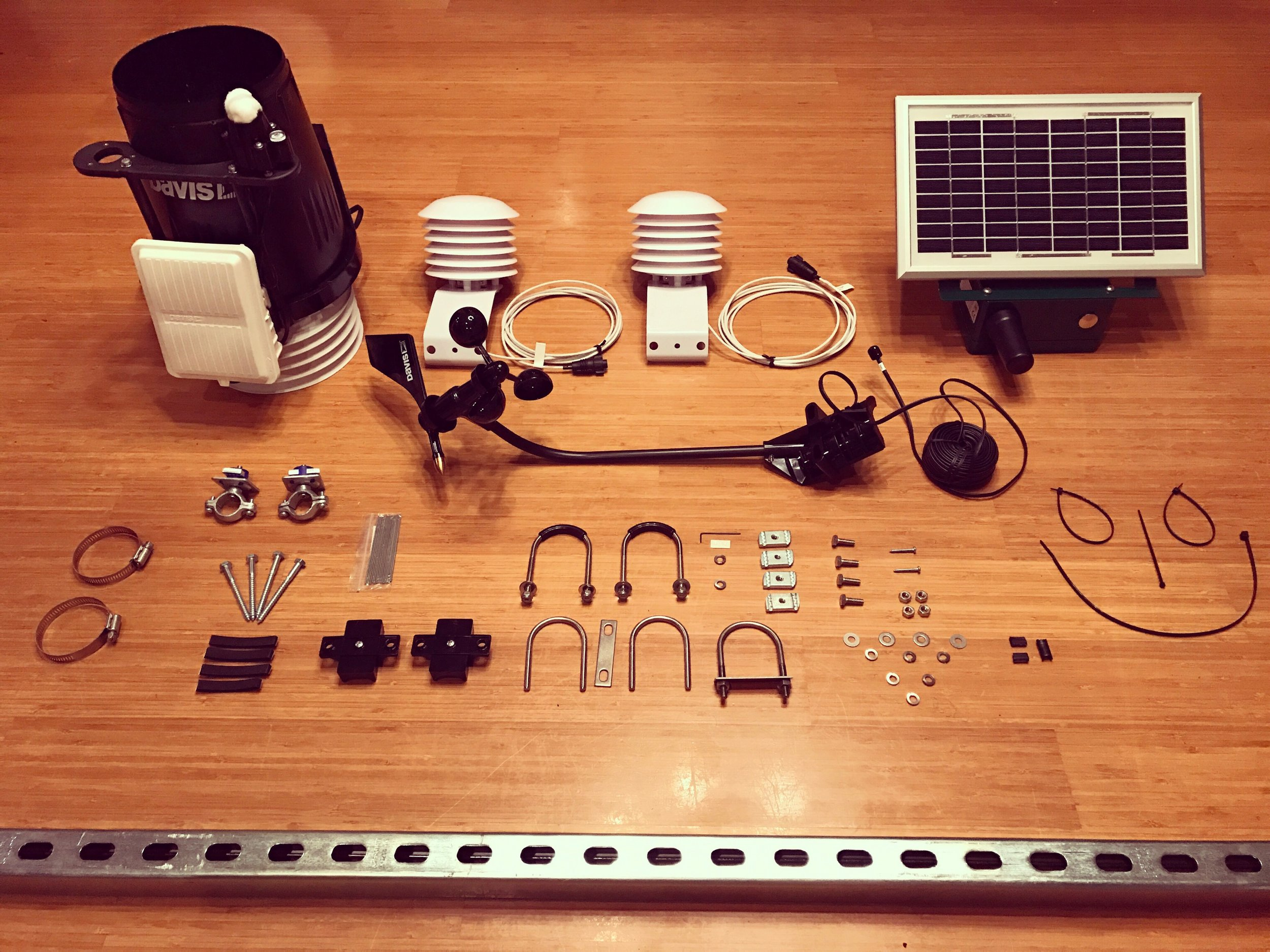 Weather station parts!
