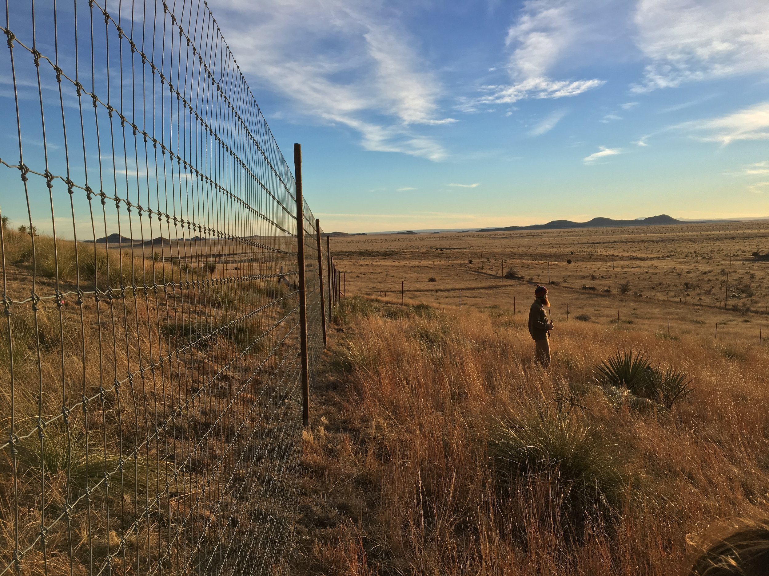 Promit spent Christmas with me working at Alta Marfa. He took some awesome pictures while we were there.
