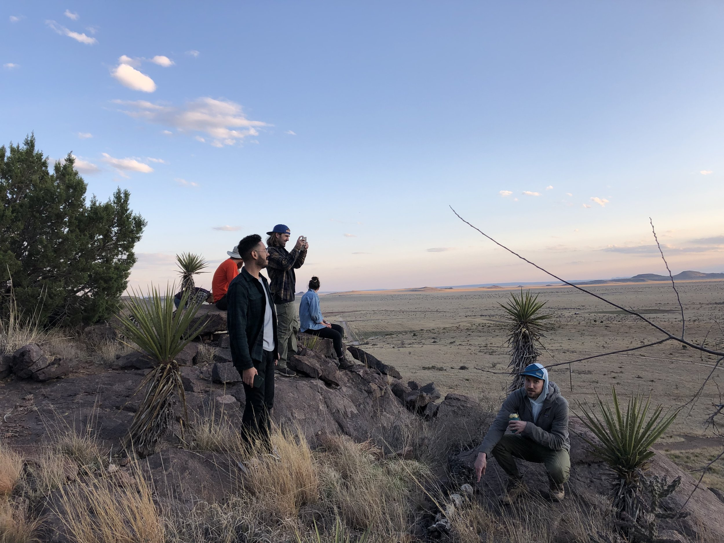 First weekend Crew Enjoying the view!
