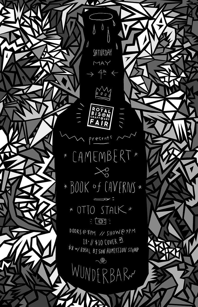 We put on a show! Poster by Jill Stanton.