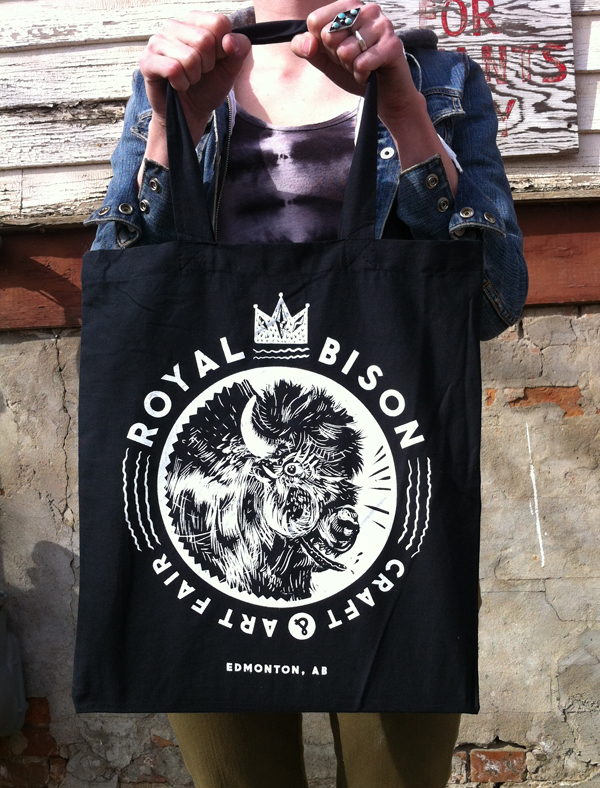 Our first-ever artist designed tote bags were in Spring 2013 by Jill Stanton!