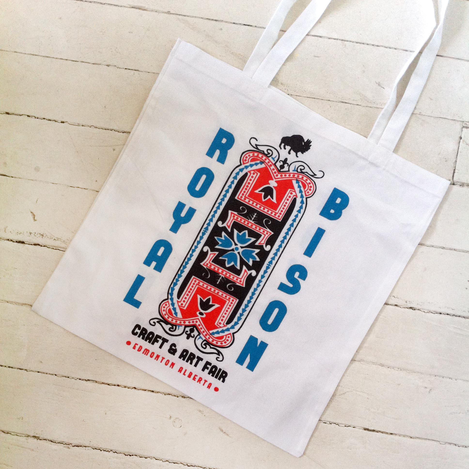 2014 artist designed tote bag by Laurel Westlund.