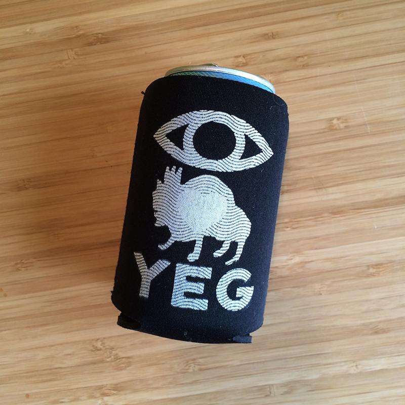 2015 evil eye koozie designed by Vikki WIercinski
