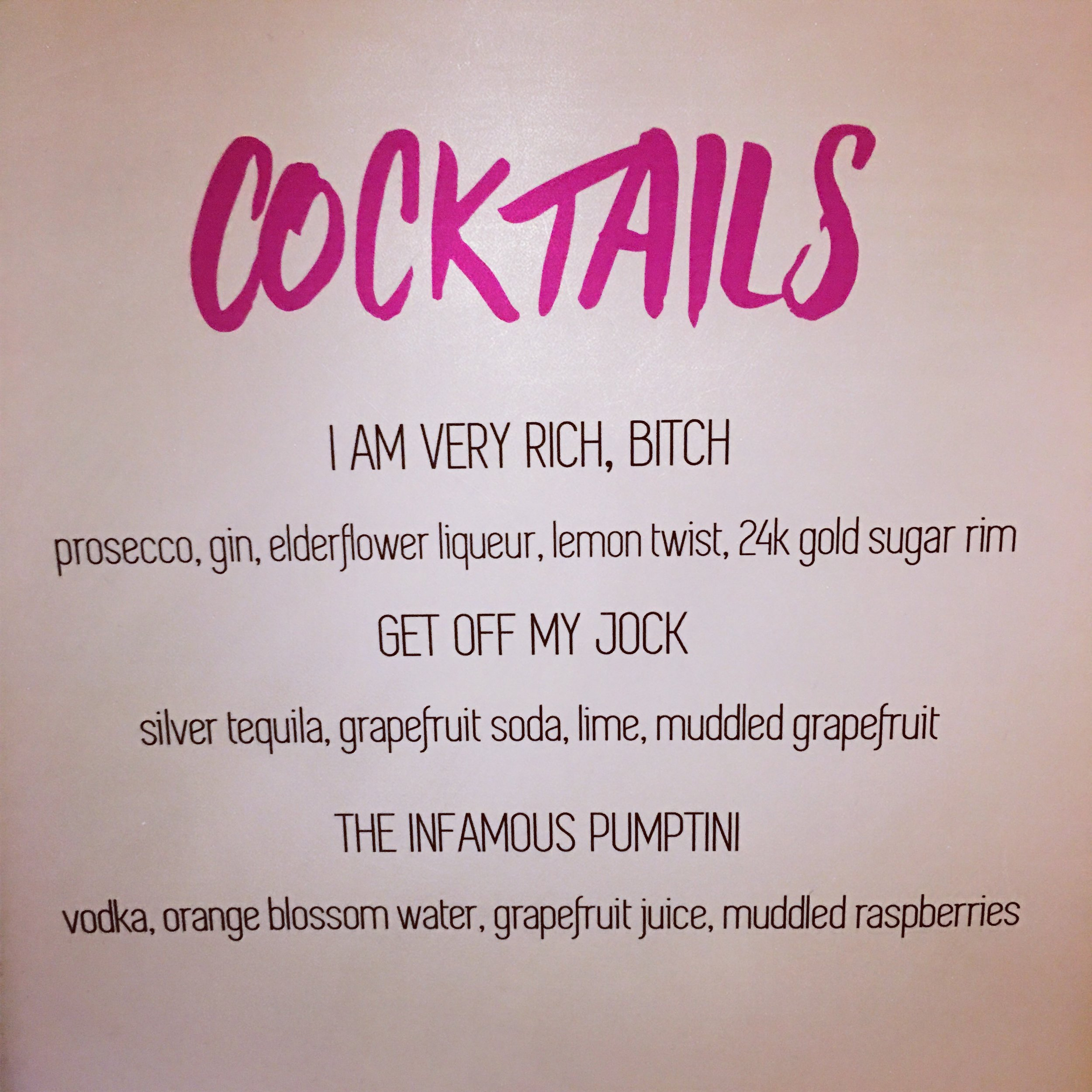 Did Someone Say Specialty Cocktails?