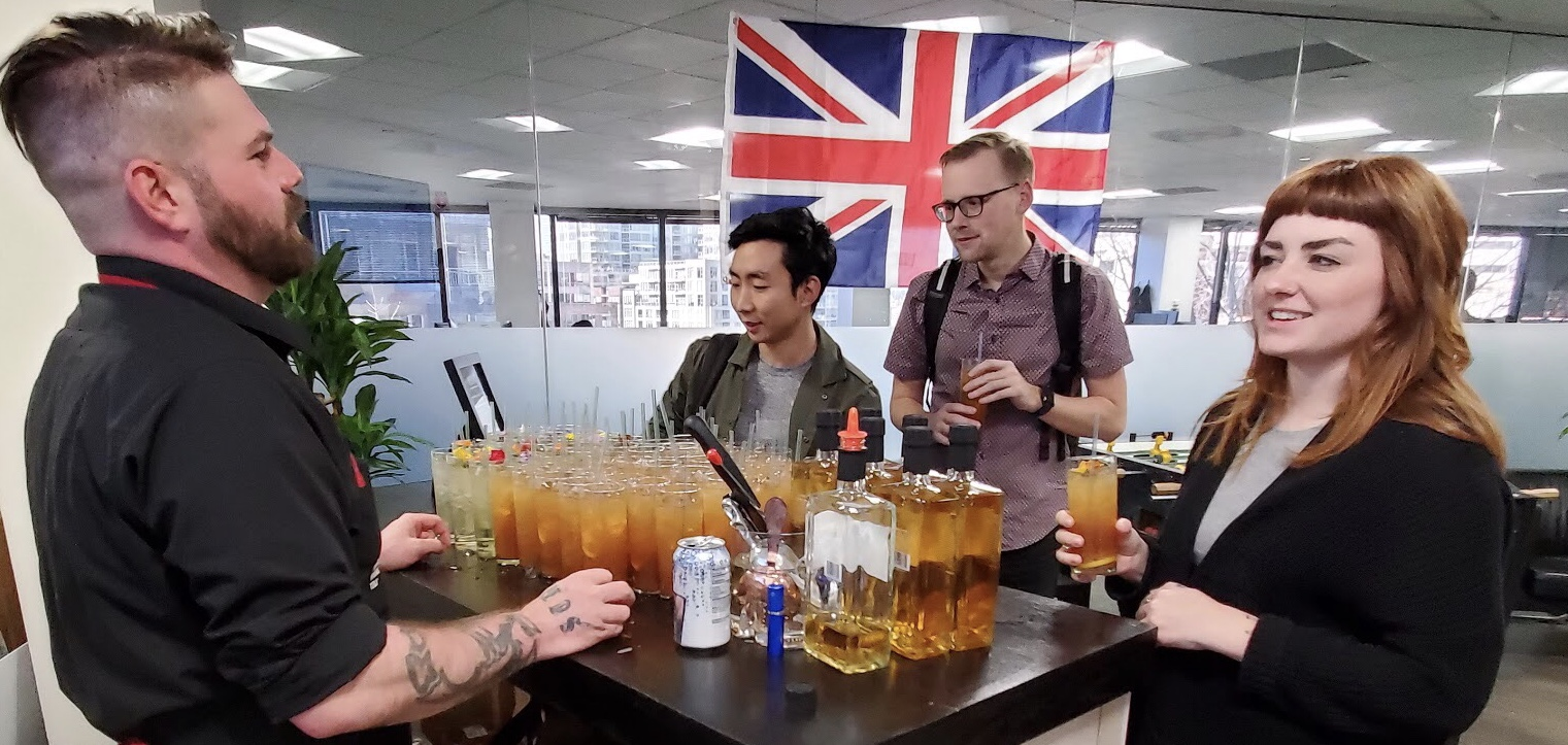 Professional Bartending for Marketing Events