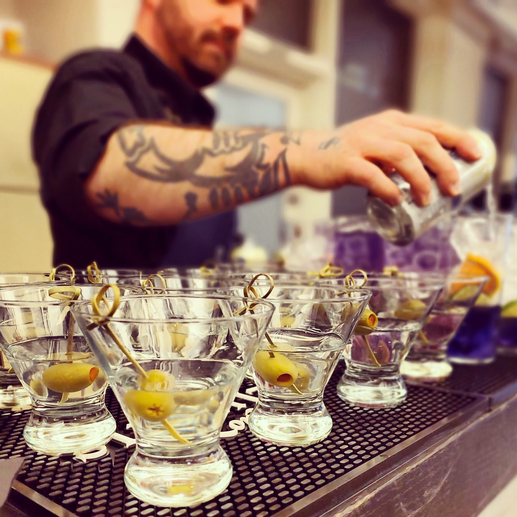 Olive Happy Hour in Seattle - And So Should You!