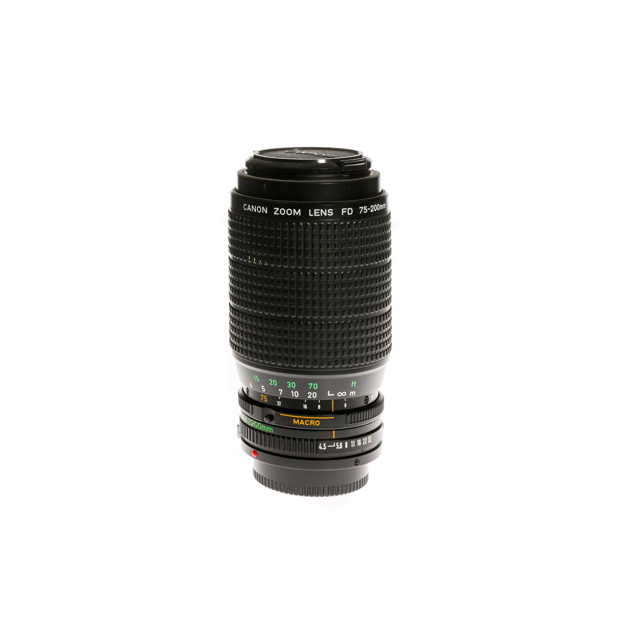 Canon FD 75-200 mm f/4.5 (1985)