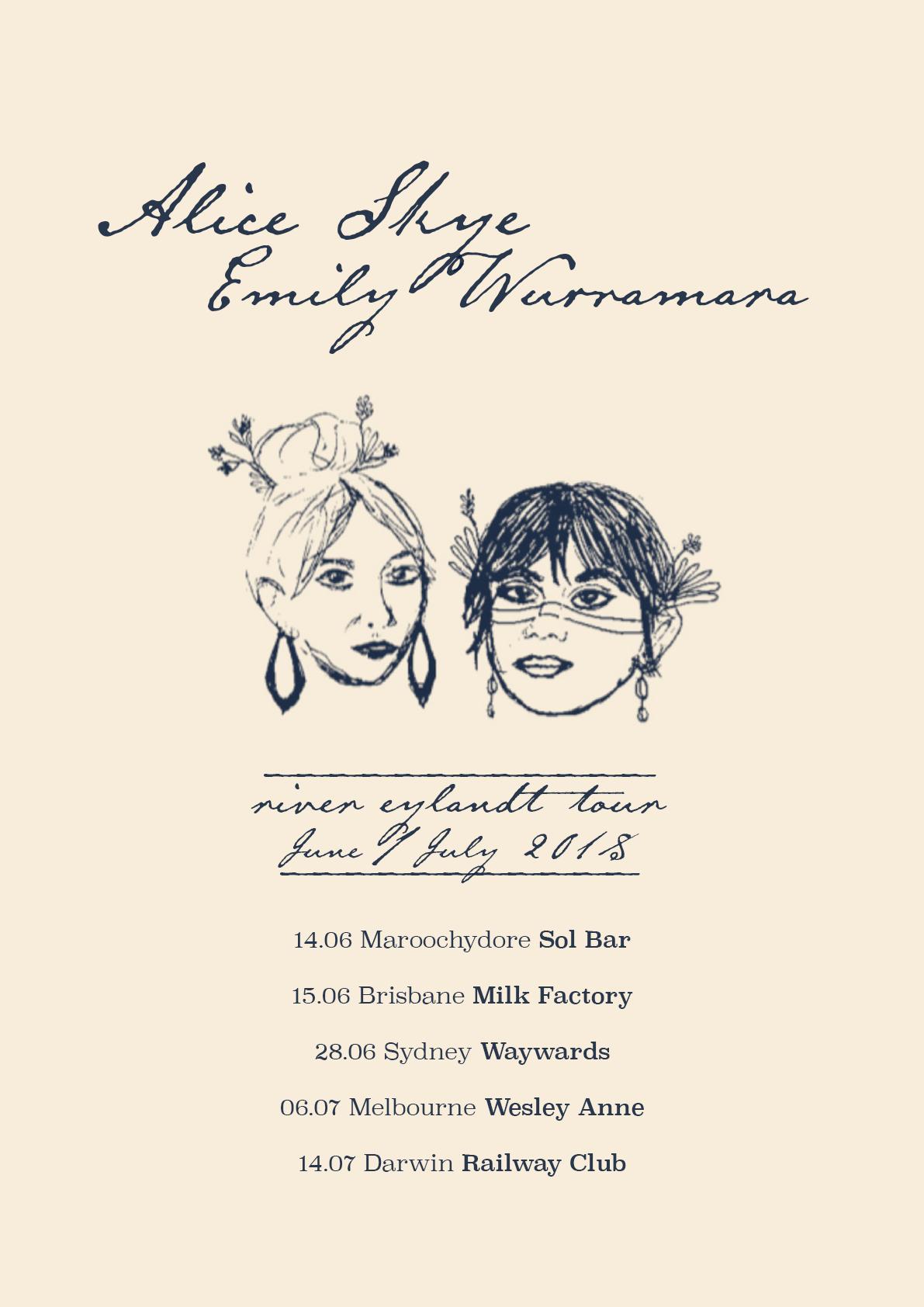 River Eylandt Tour - Social Cover Art - Drawing By Alice Skye.jpg