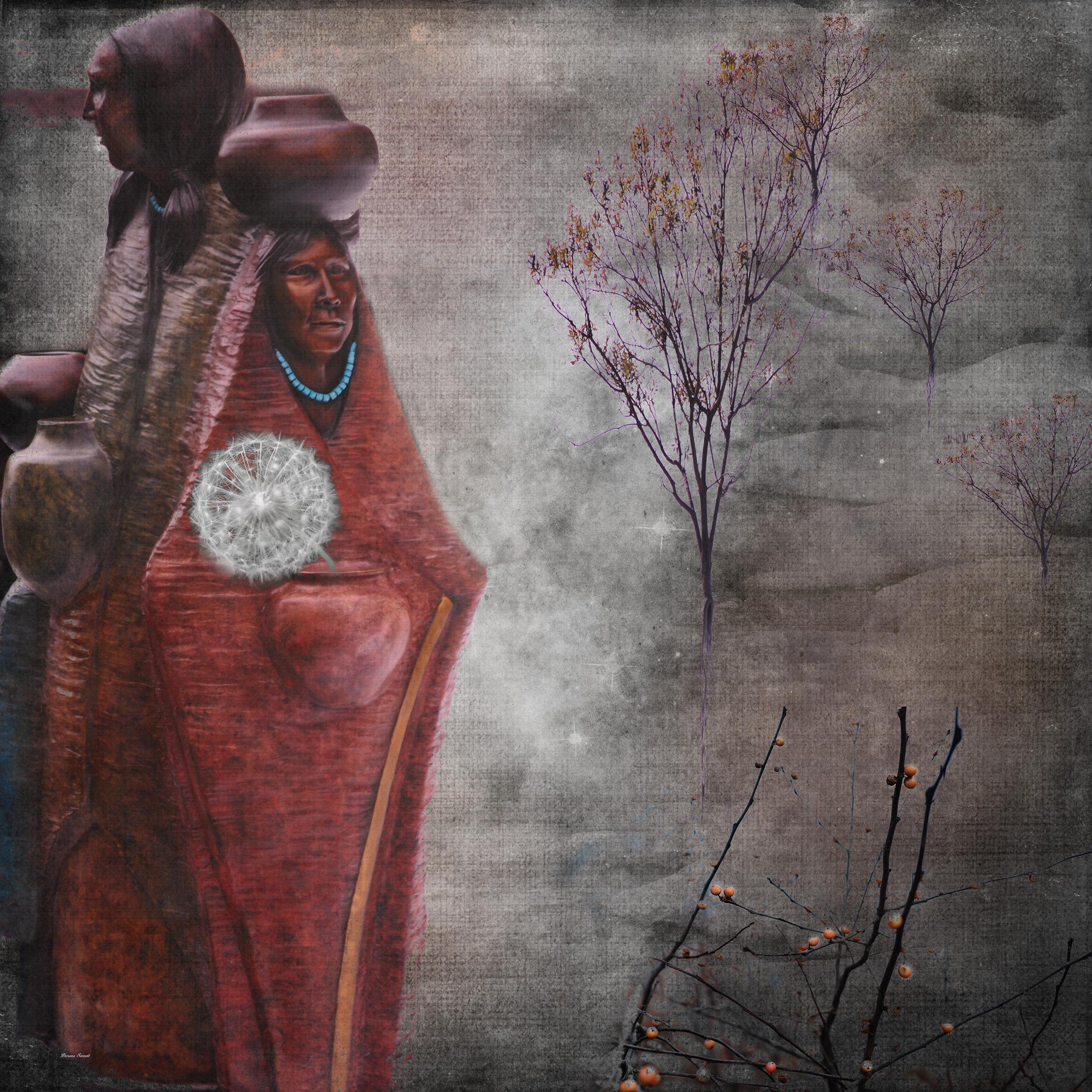 Beaver Creek Indian Sculptures…BUY  https://artboja.com/art/38vvy2/17240.php