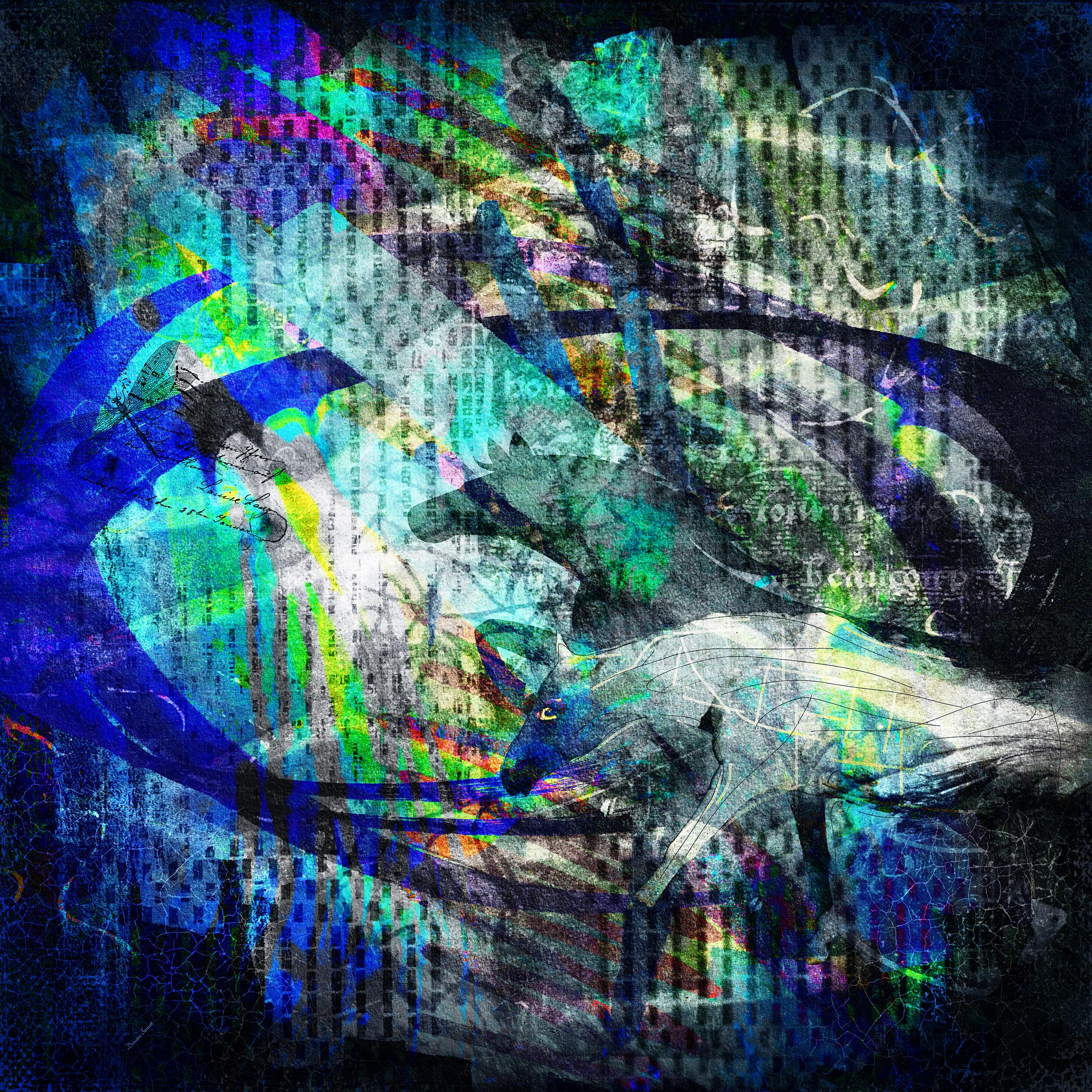 Abstract Horse…BUY  https://artboja.com/art/38vvy2/21248.php